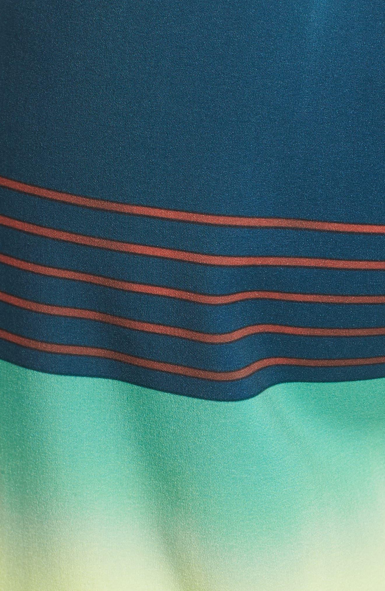 Hyperfreak Heist Board Shorts,                             Alternate thumbnail 5, color,                             DARK BLUE