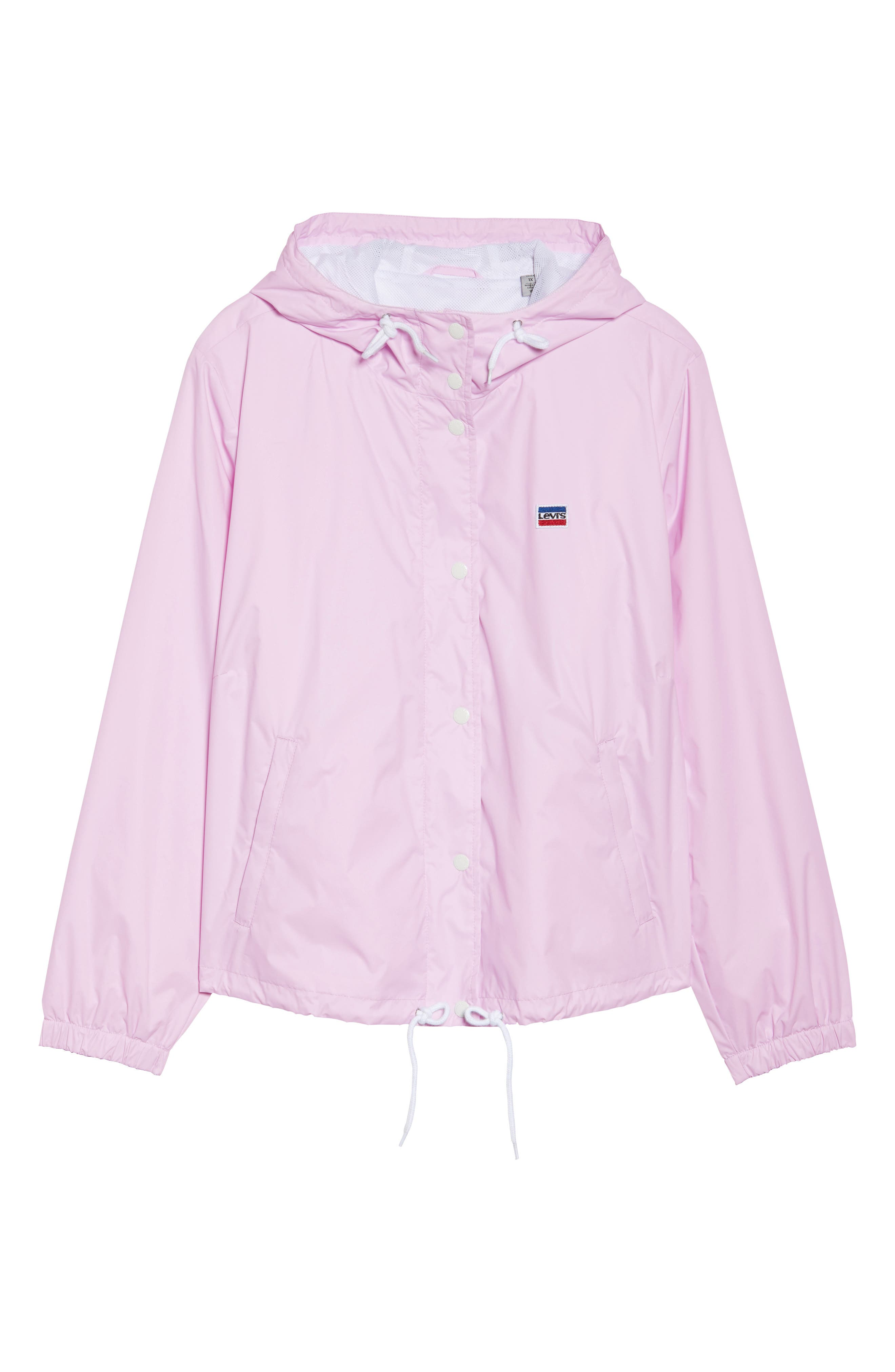 Retro Hooded Coach's Jacket,                             Alternate thumbnail 20, color,