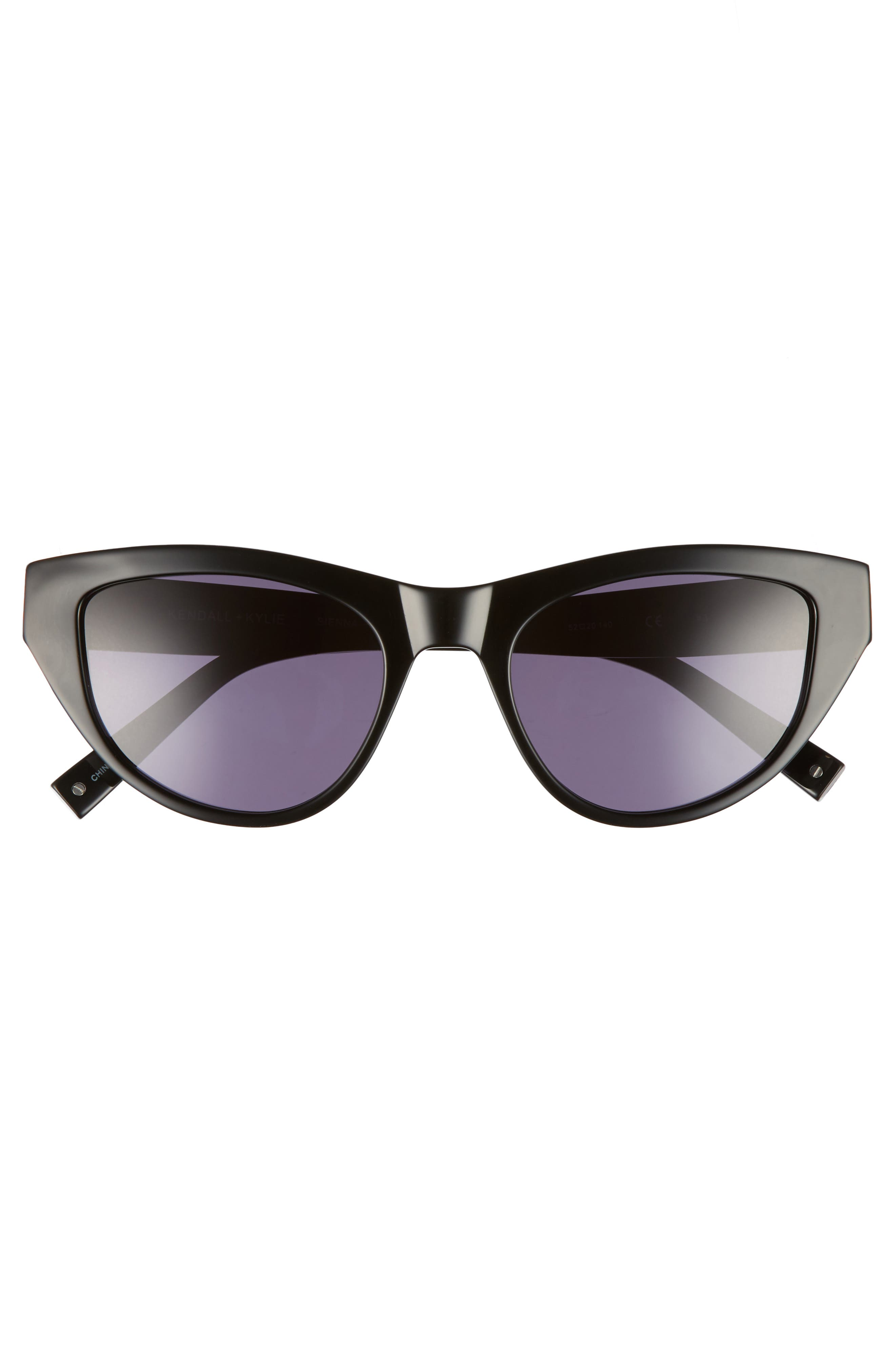 Sienna 52mm Retro Cat Eye Sunglasses,                             Alternate thumbnail 8, color,
