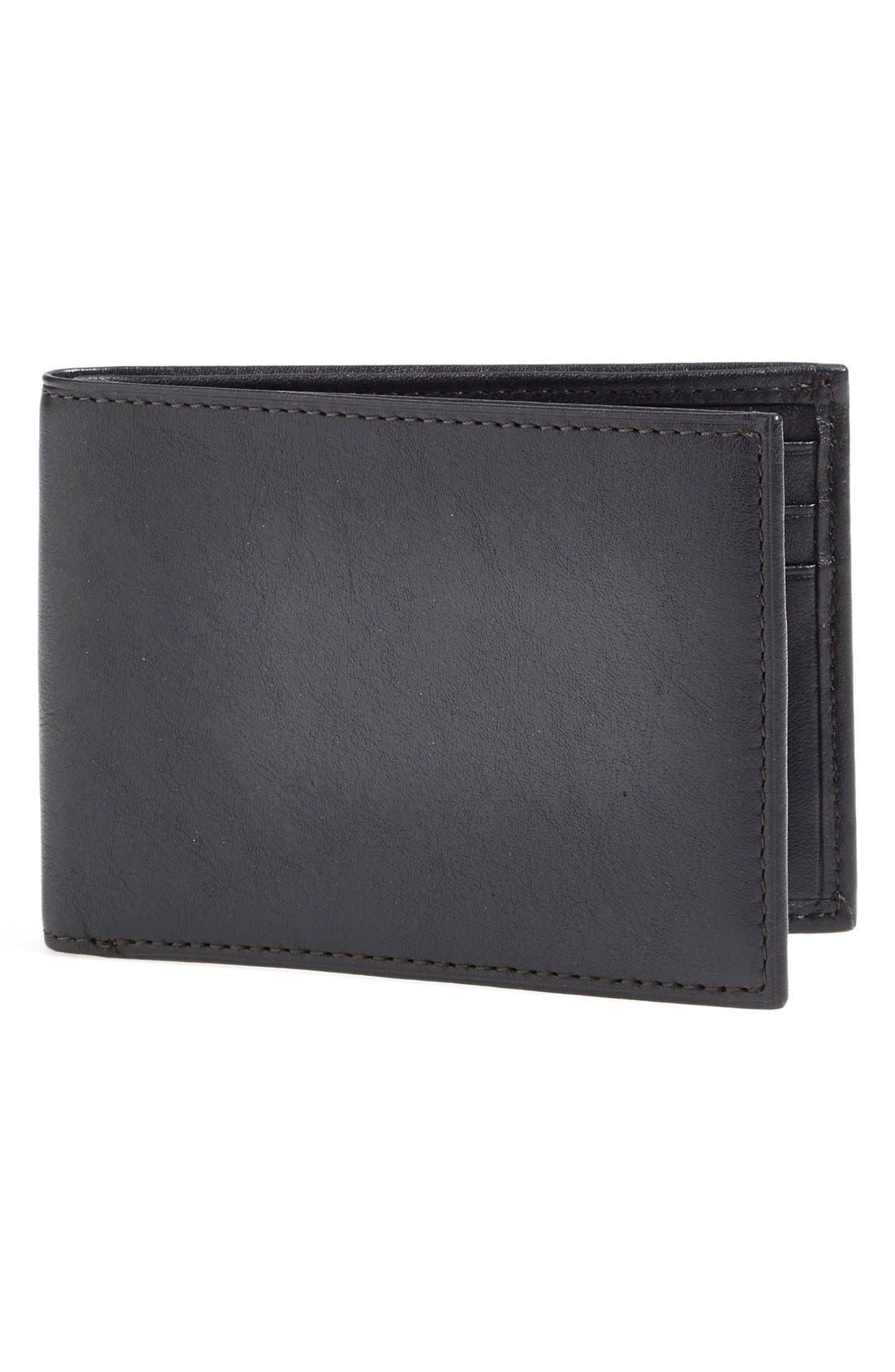 Small Bifold Wallet,                             Main thumbnail 1, color,                             001