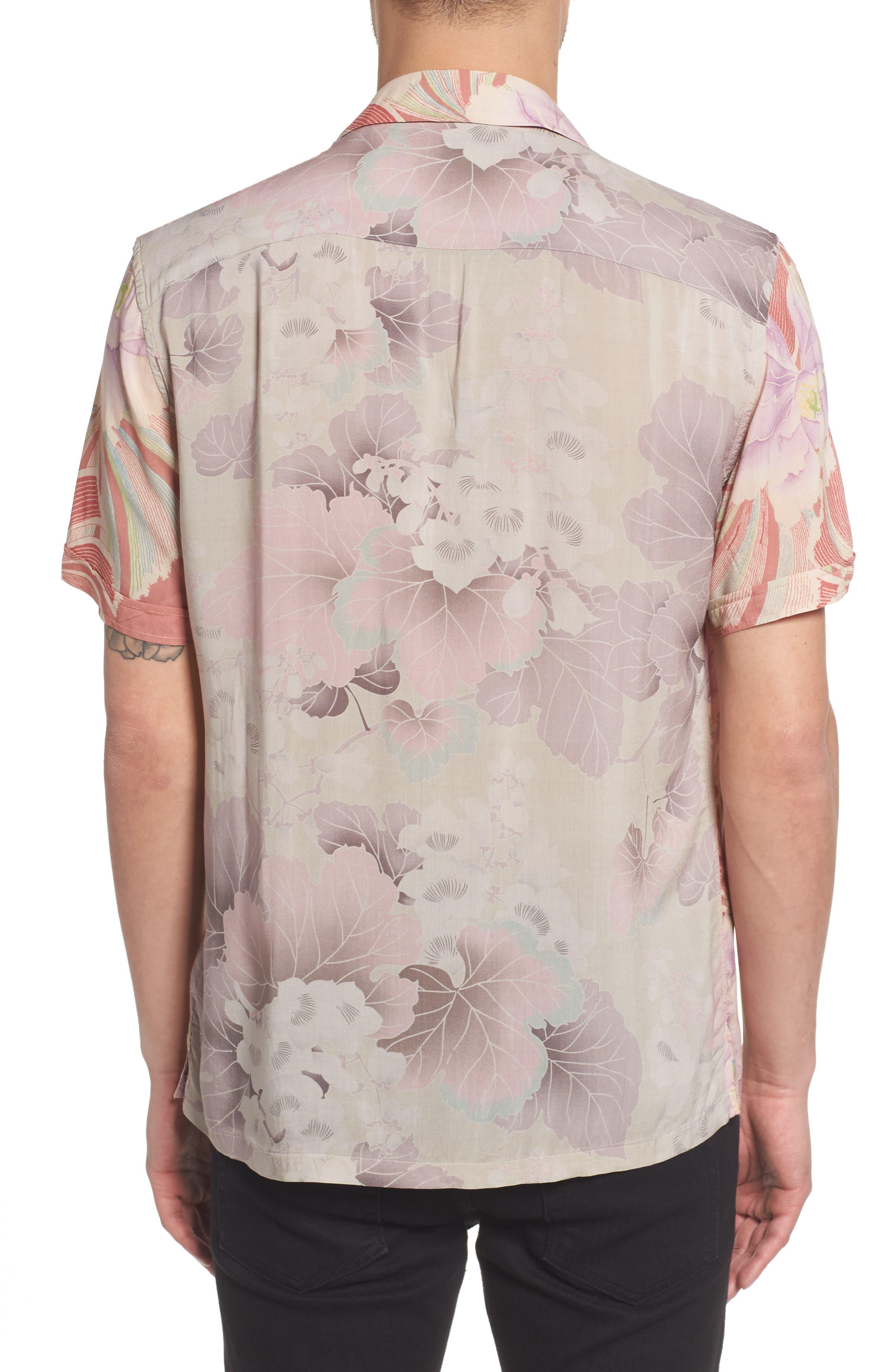 Helix Regular Fit Short Sleeve Sport Shirt,                             Alternate thumbnail 2, color,