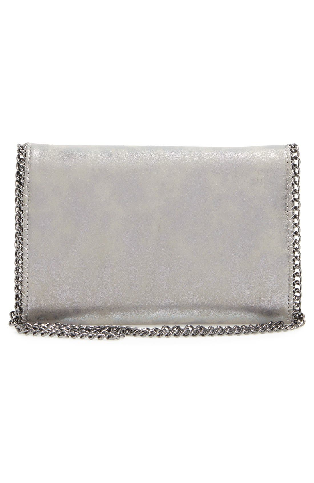 Faux Leather Crossbody Clutch,                             Alternate thumbnail 26, color,