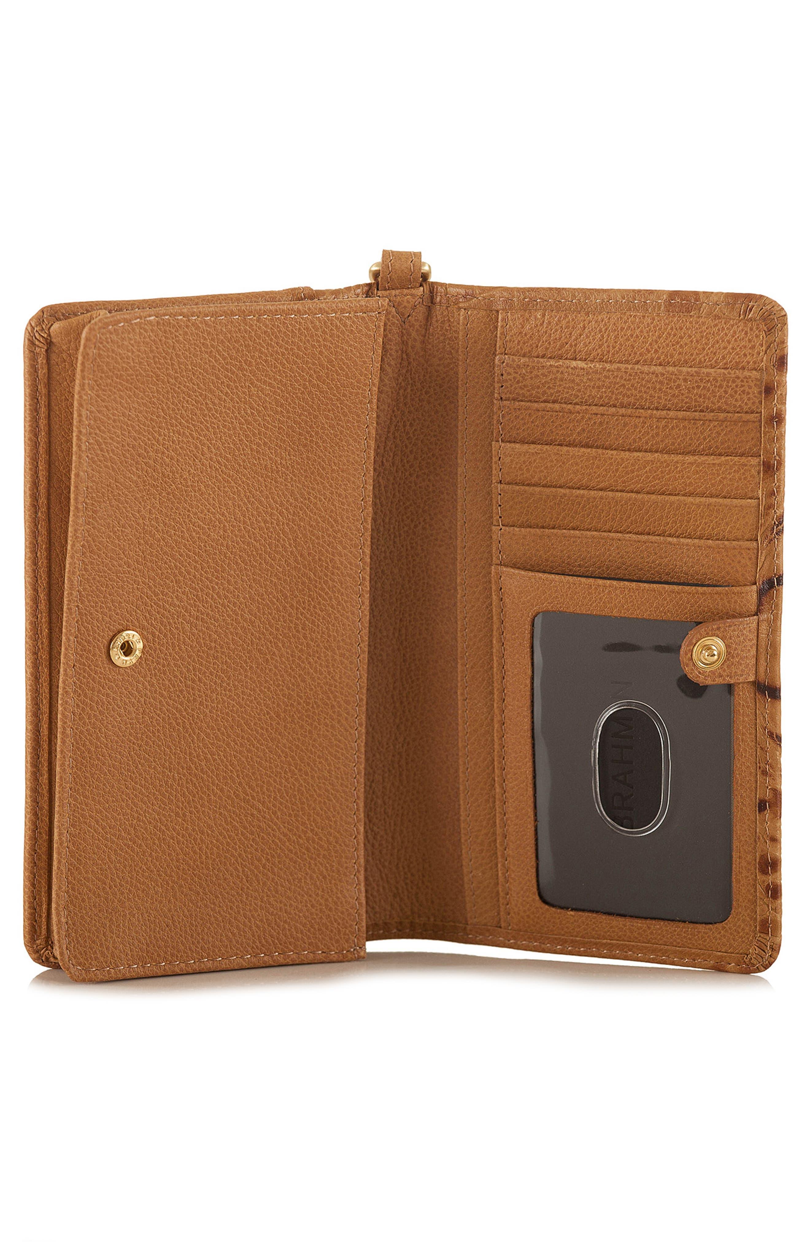 Debra Croc Embossed Leather Phone Wallet,                             Alternate thumbnail 2, color,                             205