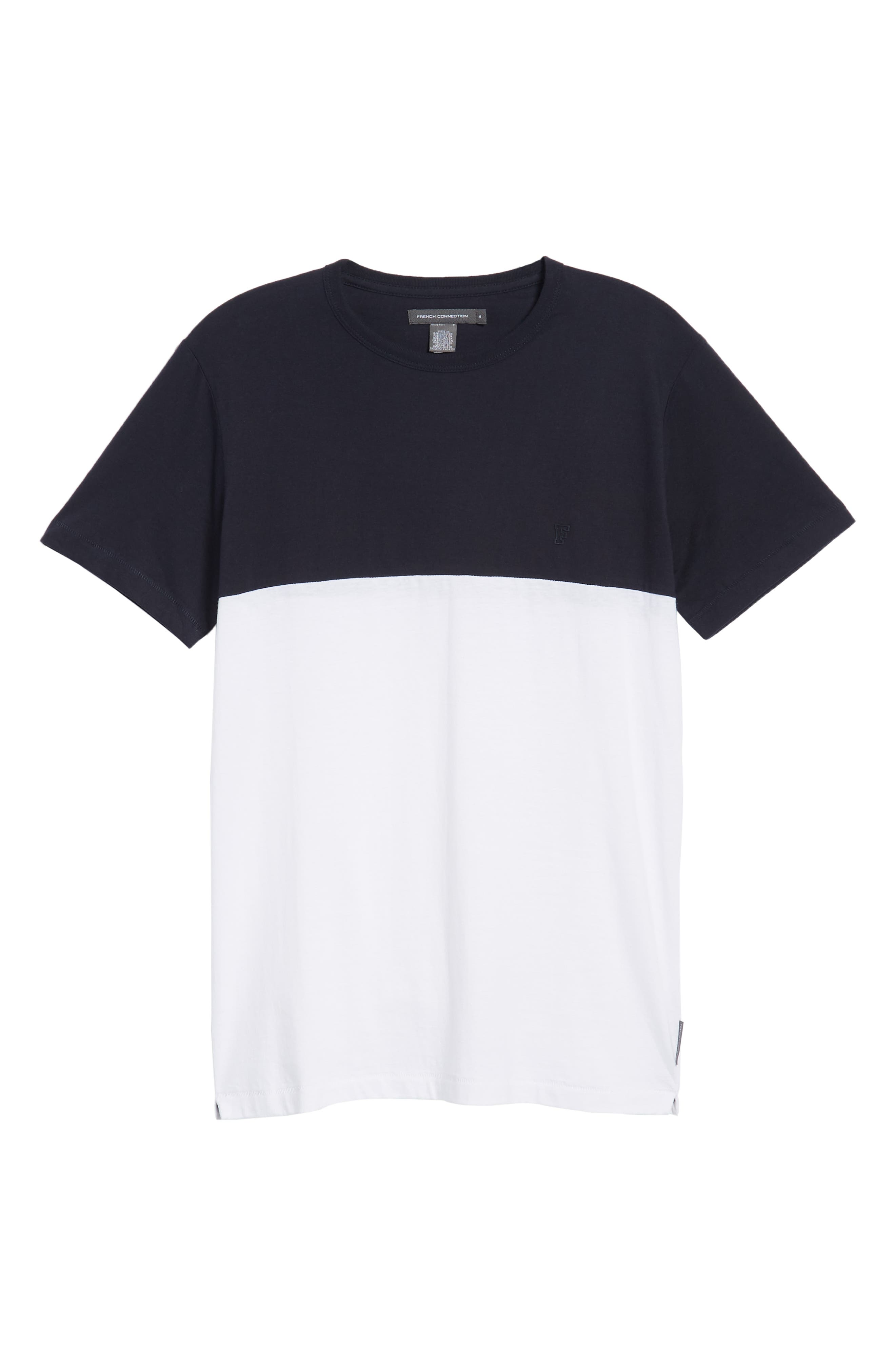 Block Crewneck T-Shirt,                             Alternate thumbnail 6, color,                             497