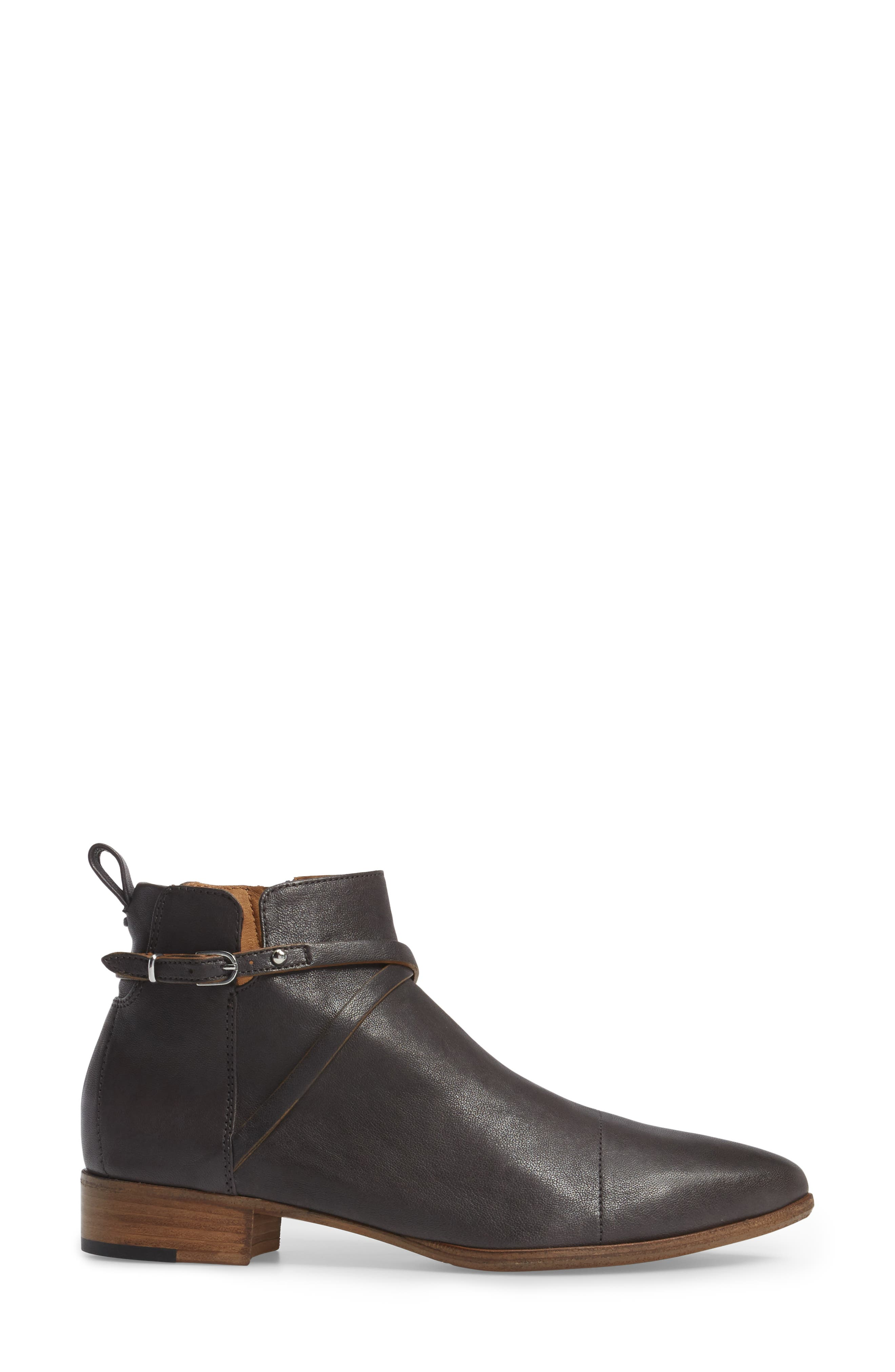 'Mea' Ankle Boot,                             Alternate thumbnail 3, color,                             032