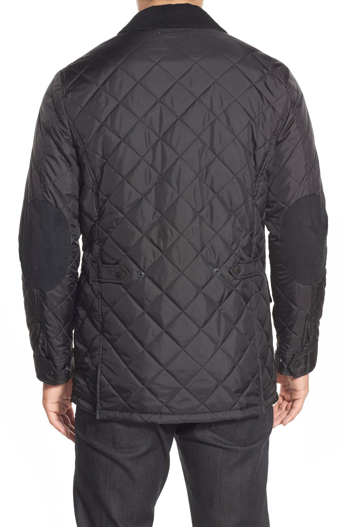 Quilted Jacket,                             Alternate thumbnail 5, color,                             001