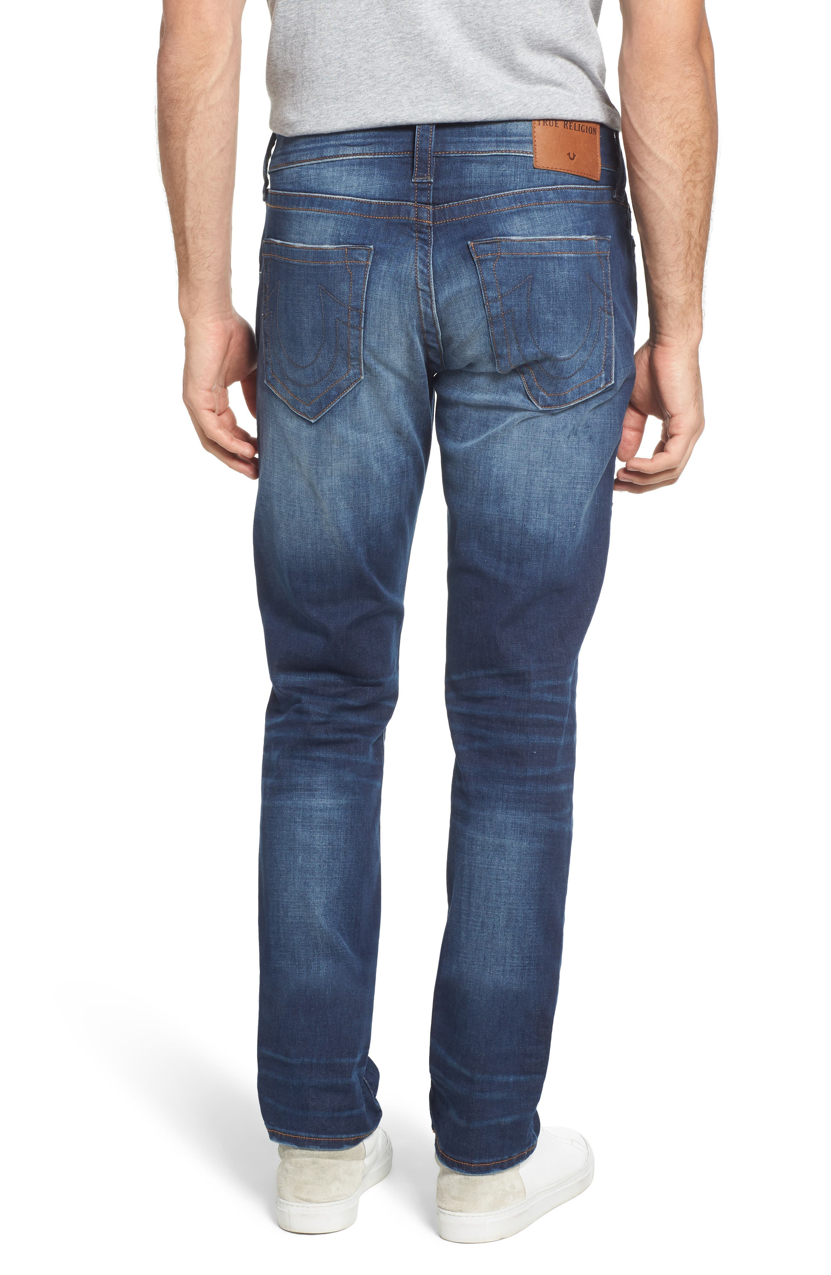 Geno Straight Leg Jeans,                             Alternate thumbnail 2, color,                             SUSPECT