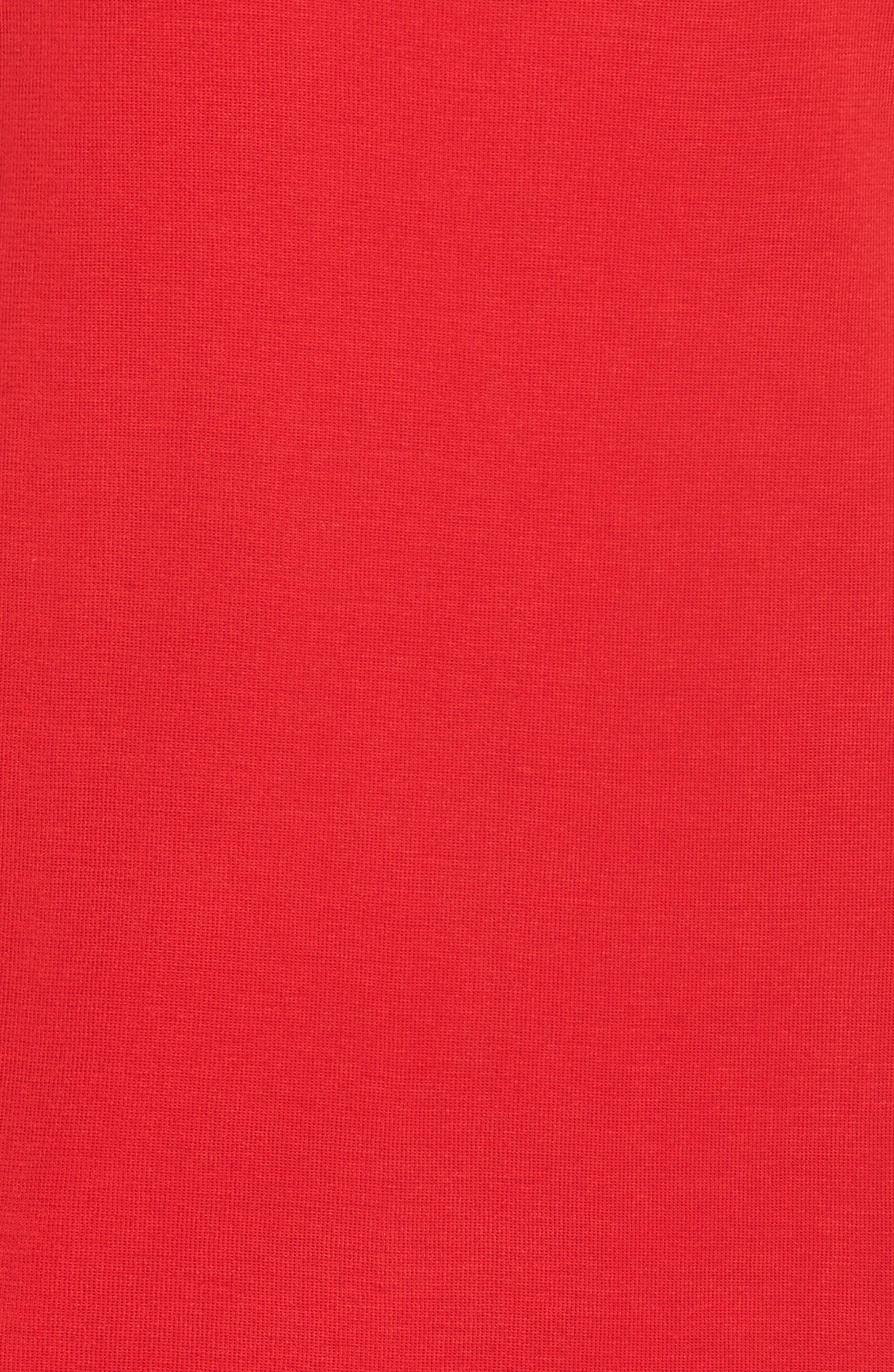 Knit Sheath Dress,                             Alternate thumbnail 5, color,                             608