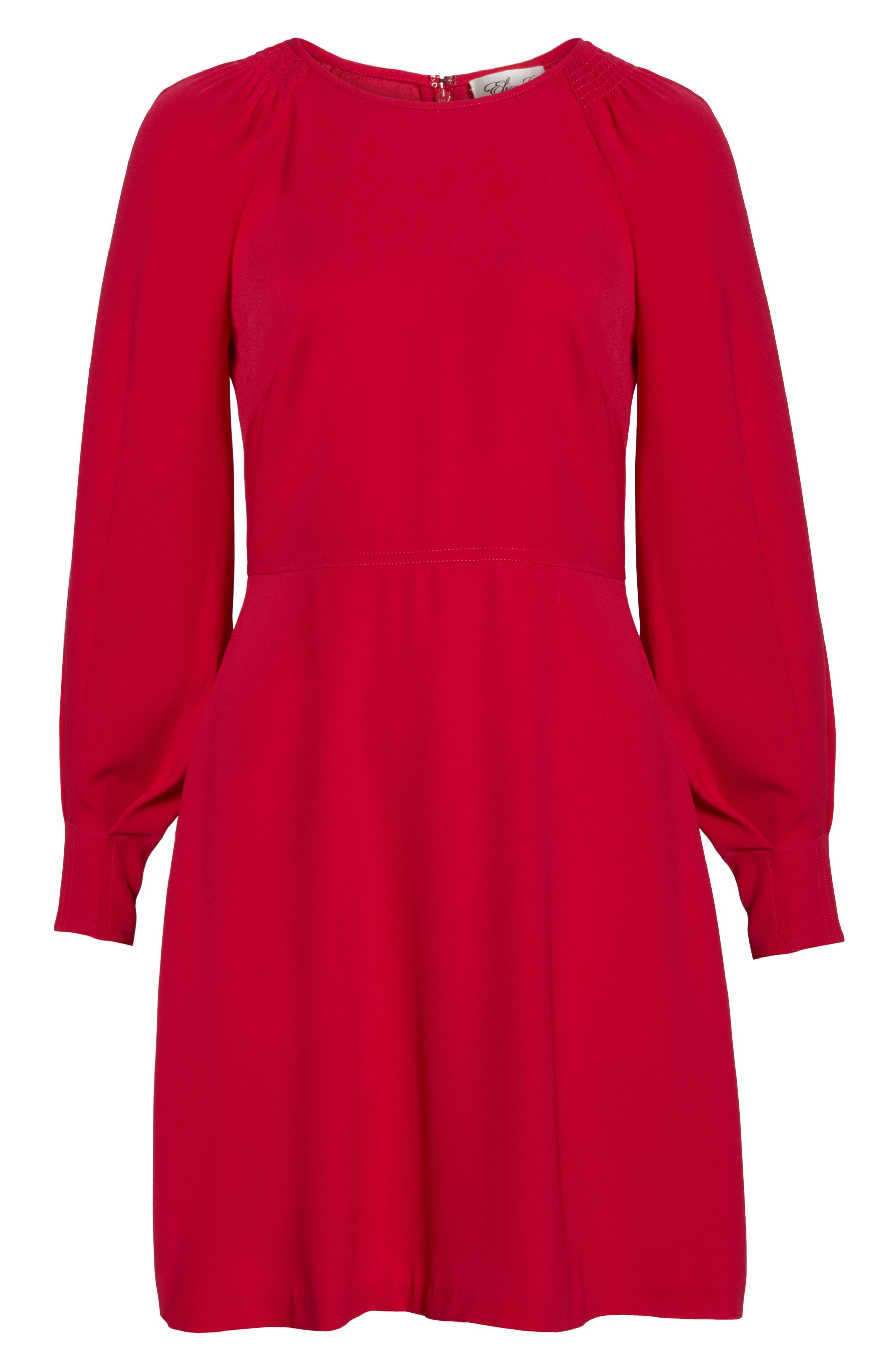 A-Line Dress,                             Alternate thumbnail 7, color,                             PINK