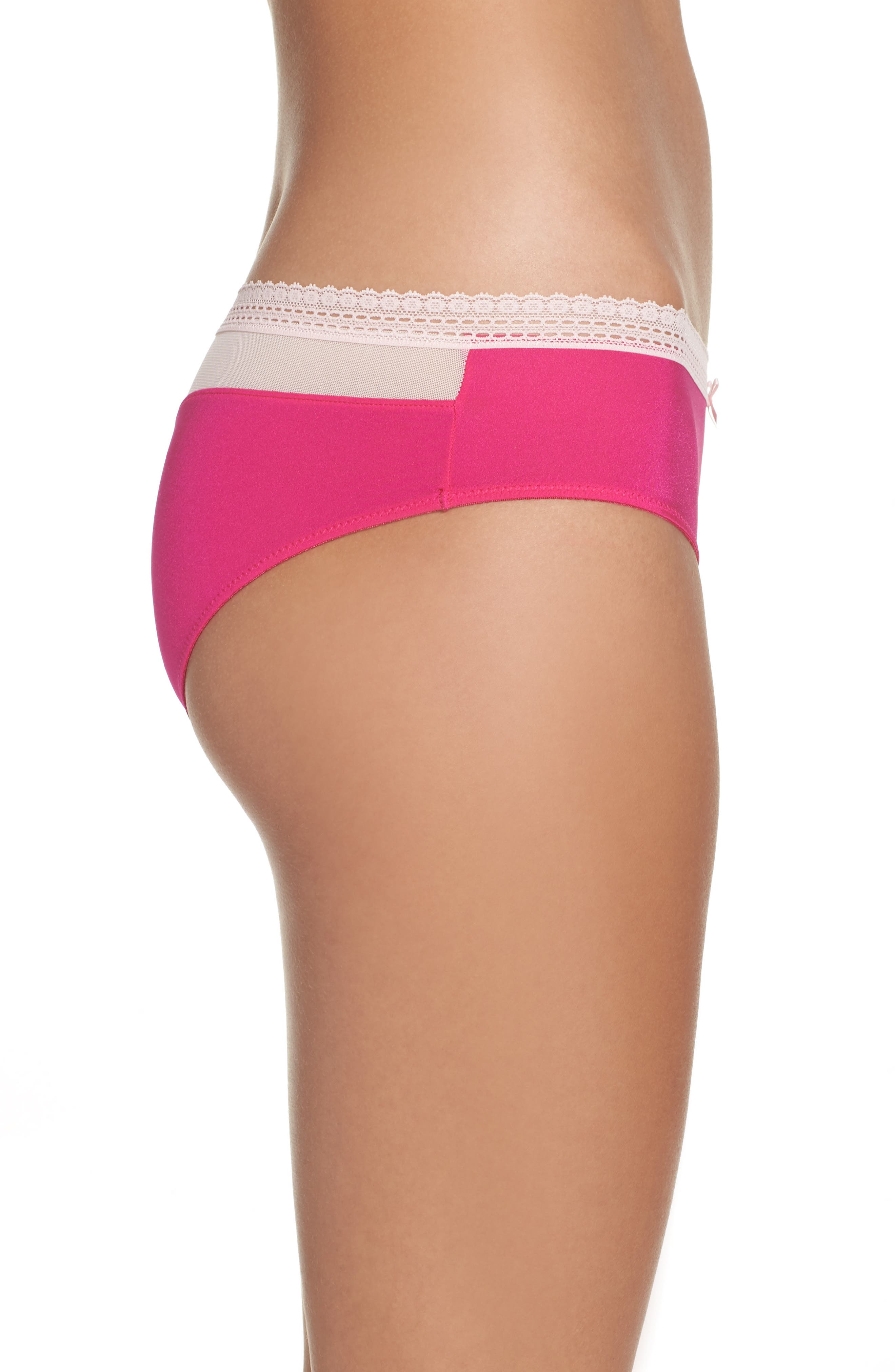 'Forever Perfect - Cutie' Hipster Briefs,                             Alternate thumbnail 3, color,                             650