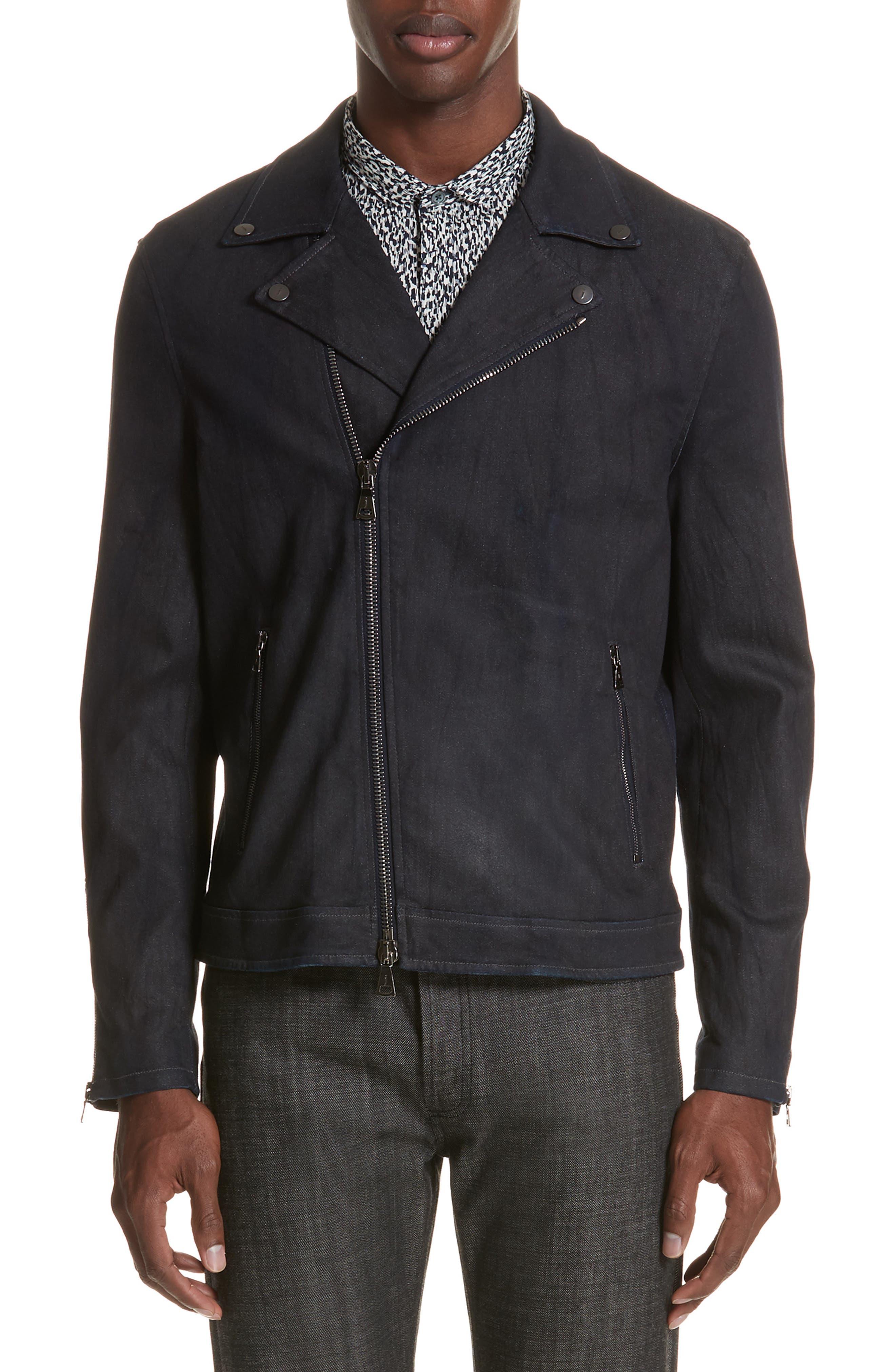 Biker Jacket,                         Main,                         color, 414