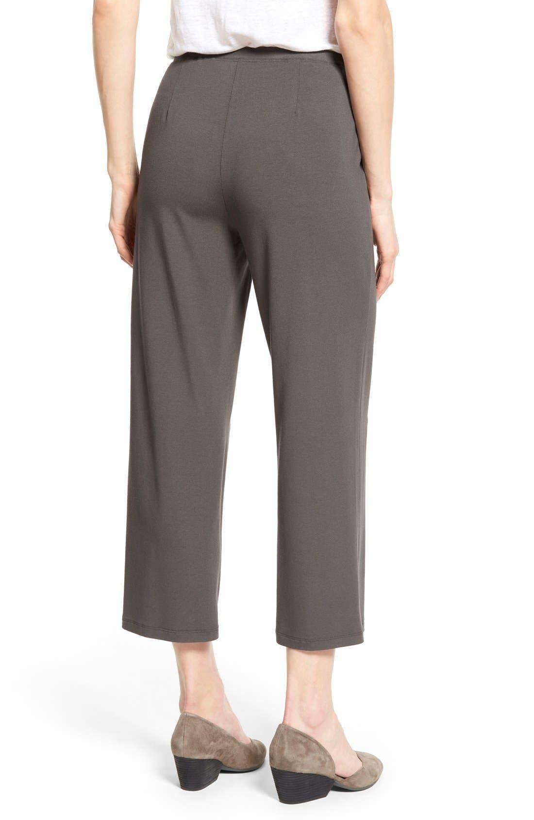 Crop Jersey Pants,                             Alternate thumbnail 15, color,