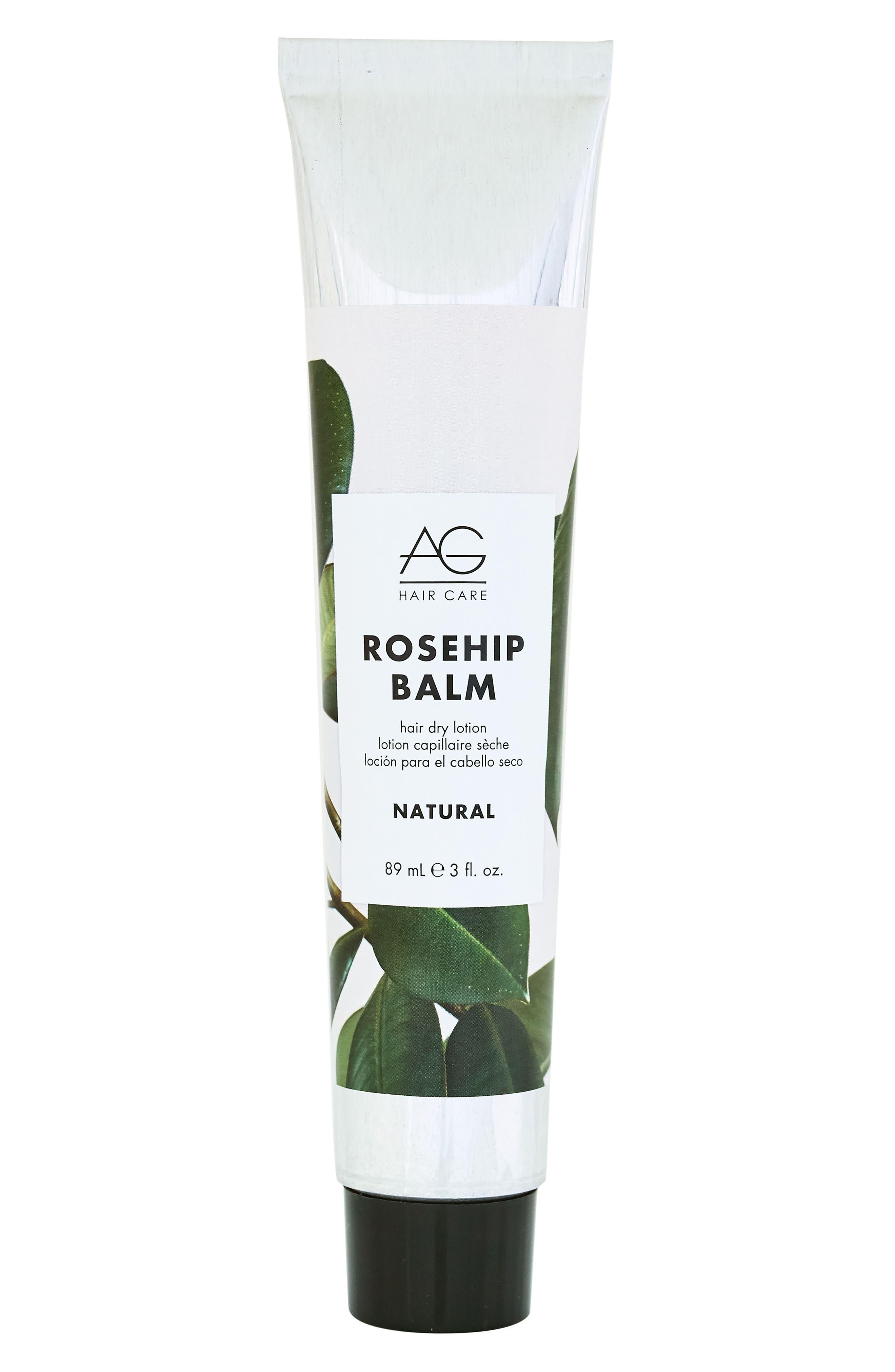 Rosehip Balm Hair Dry Lotion,                             Main thumbnail 1, color,                             NO COLOR