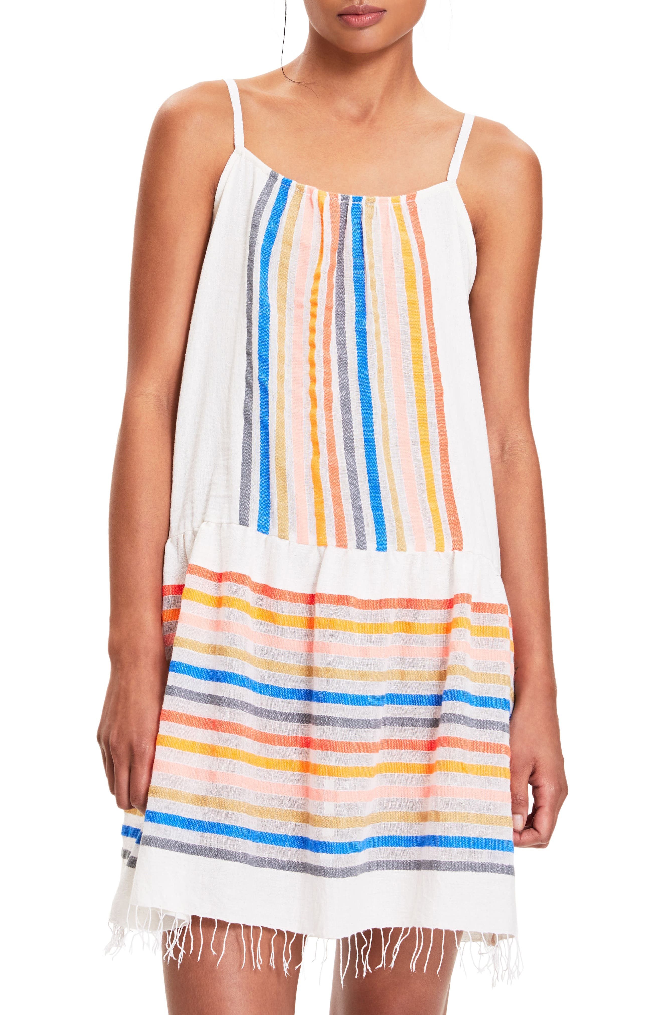 Candance Cover-Up Dress,                         Main,                         color, 100