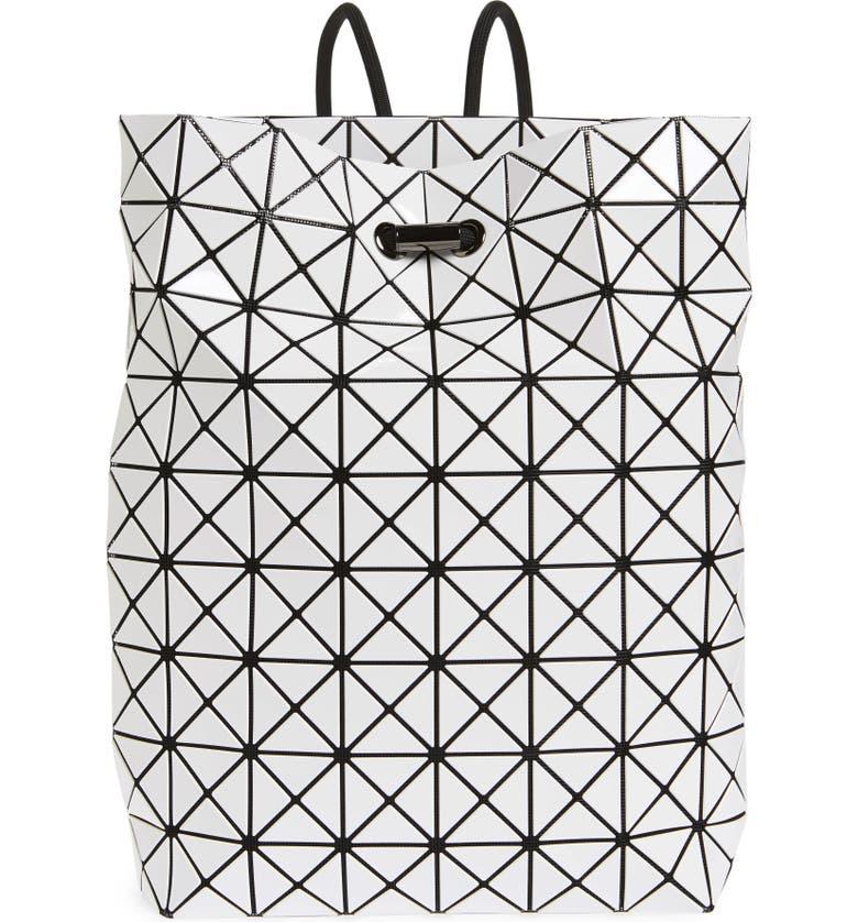 Bao Bao Issey Miyake Wring Flat Backpack - White  25f7f165d60cf