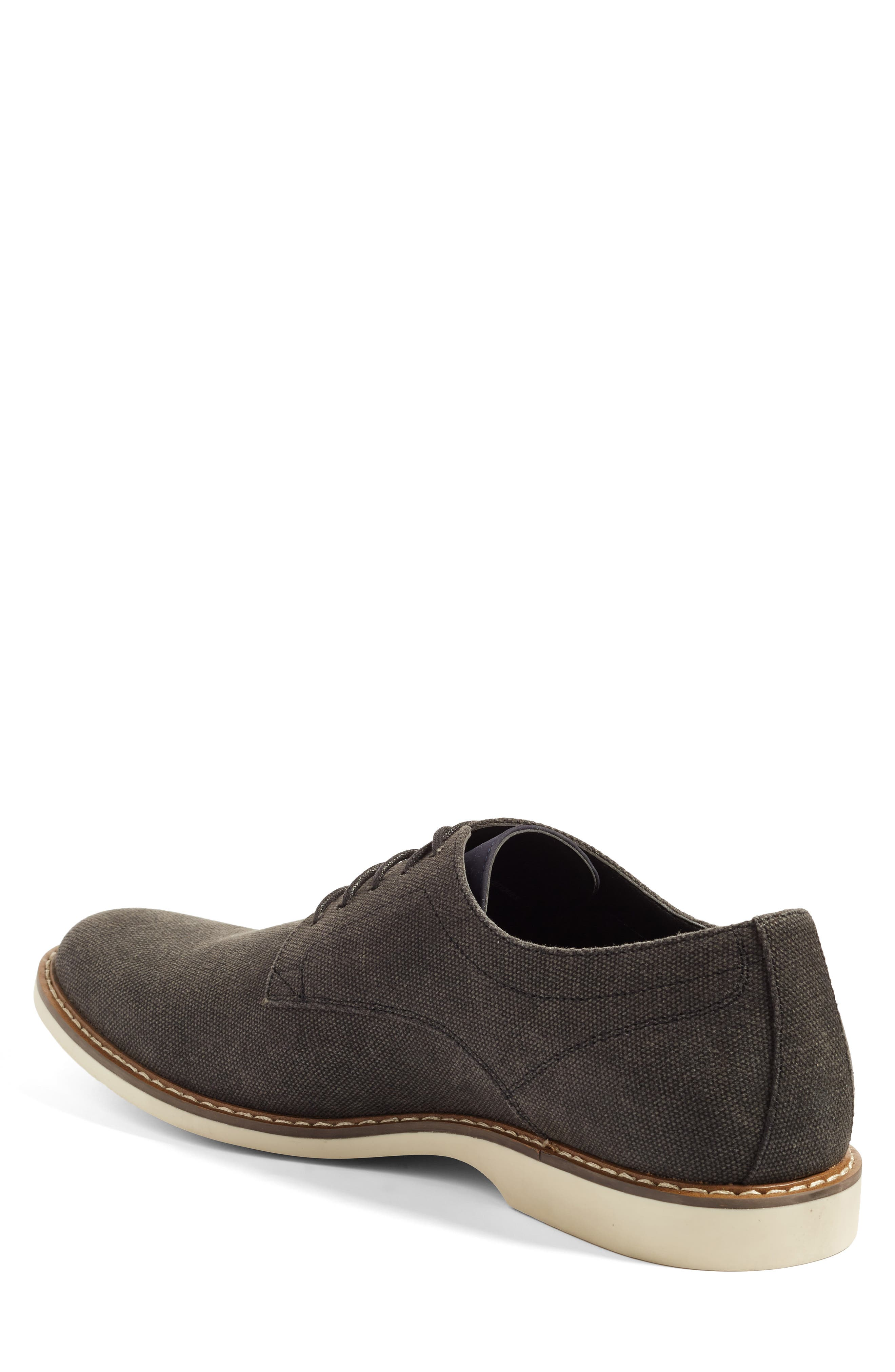 Austin Buck Shoe,                             Alternate thumbnail 2, color,                             BLACK CANVAS