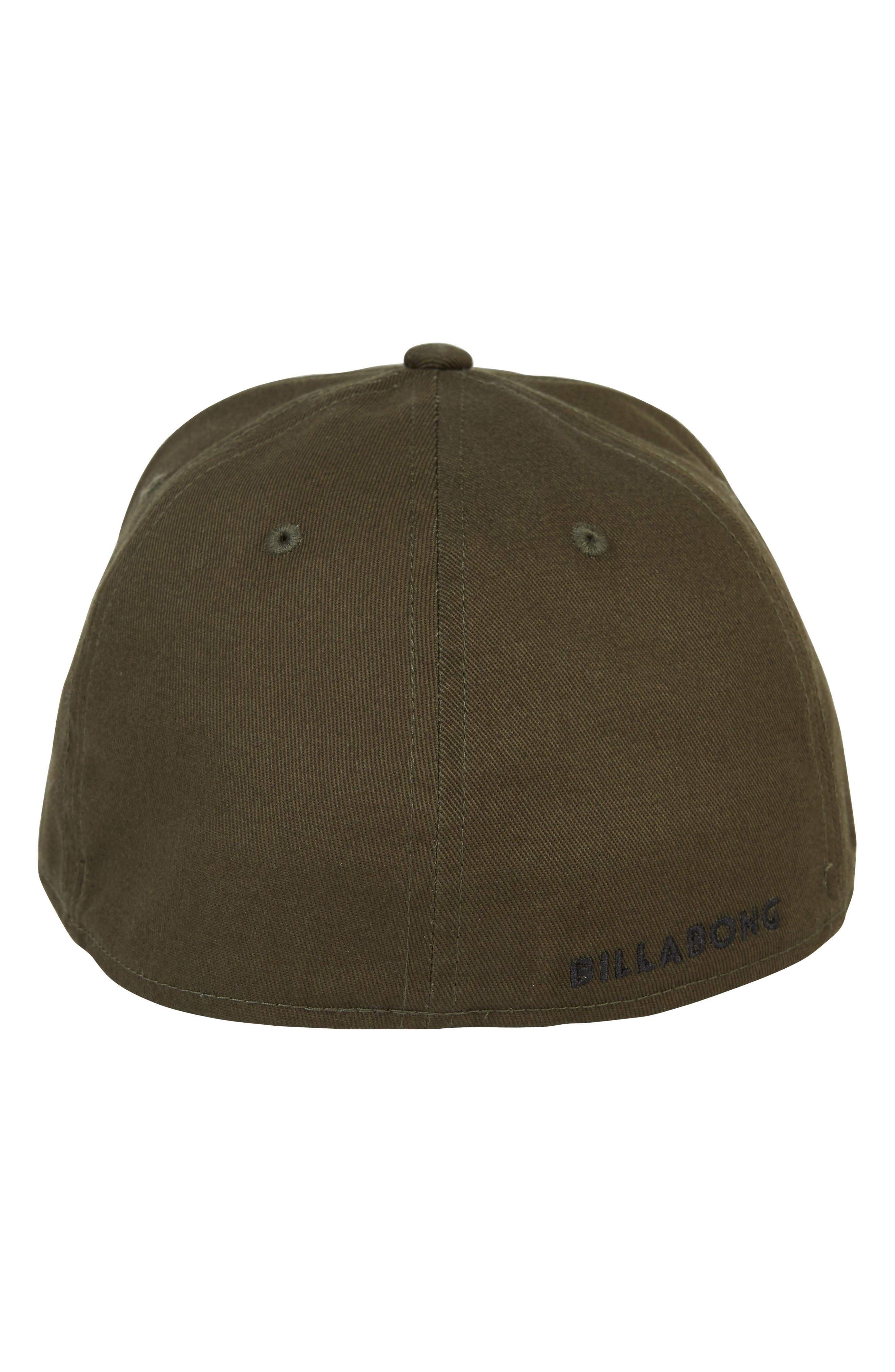 All Day Stretch Baseball Cap,                             Alternate thumbnail 3, color,                             OLIVE
