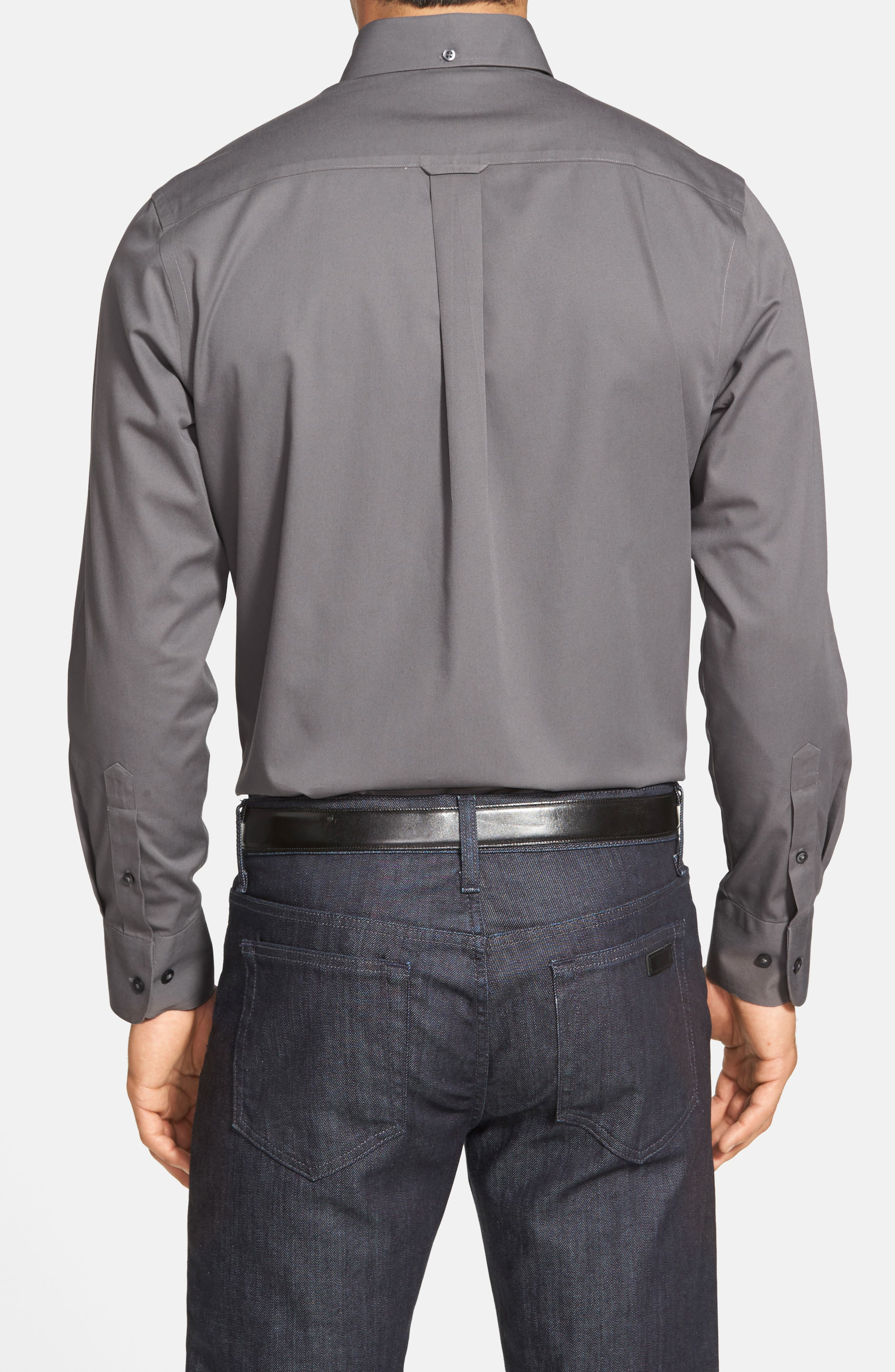 Smartcare<sup>™</sup> Traditional Fit Twill Boat Shirt,                             Alternate thumbnail 81, color,
