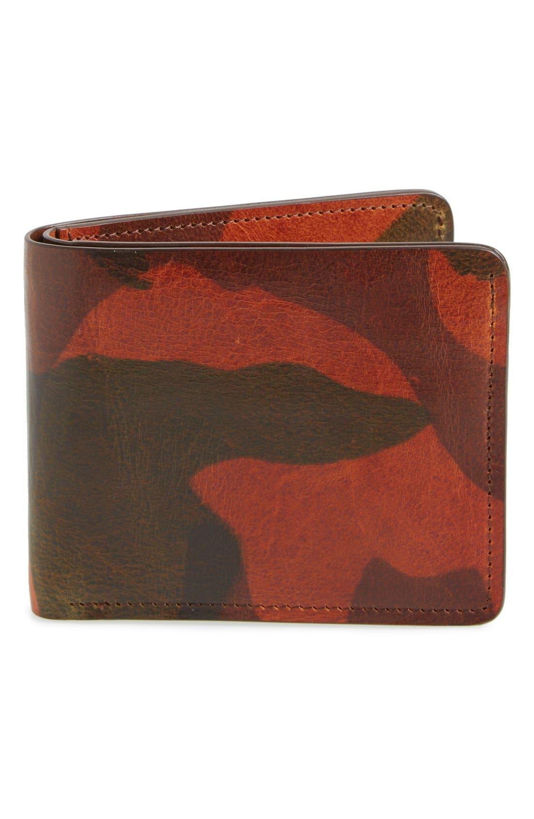 'Jackson' Bison Leather Wallet,                             Main thumbnail 3, color,