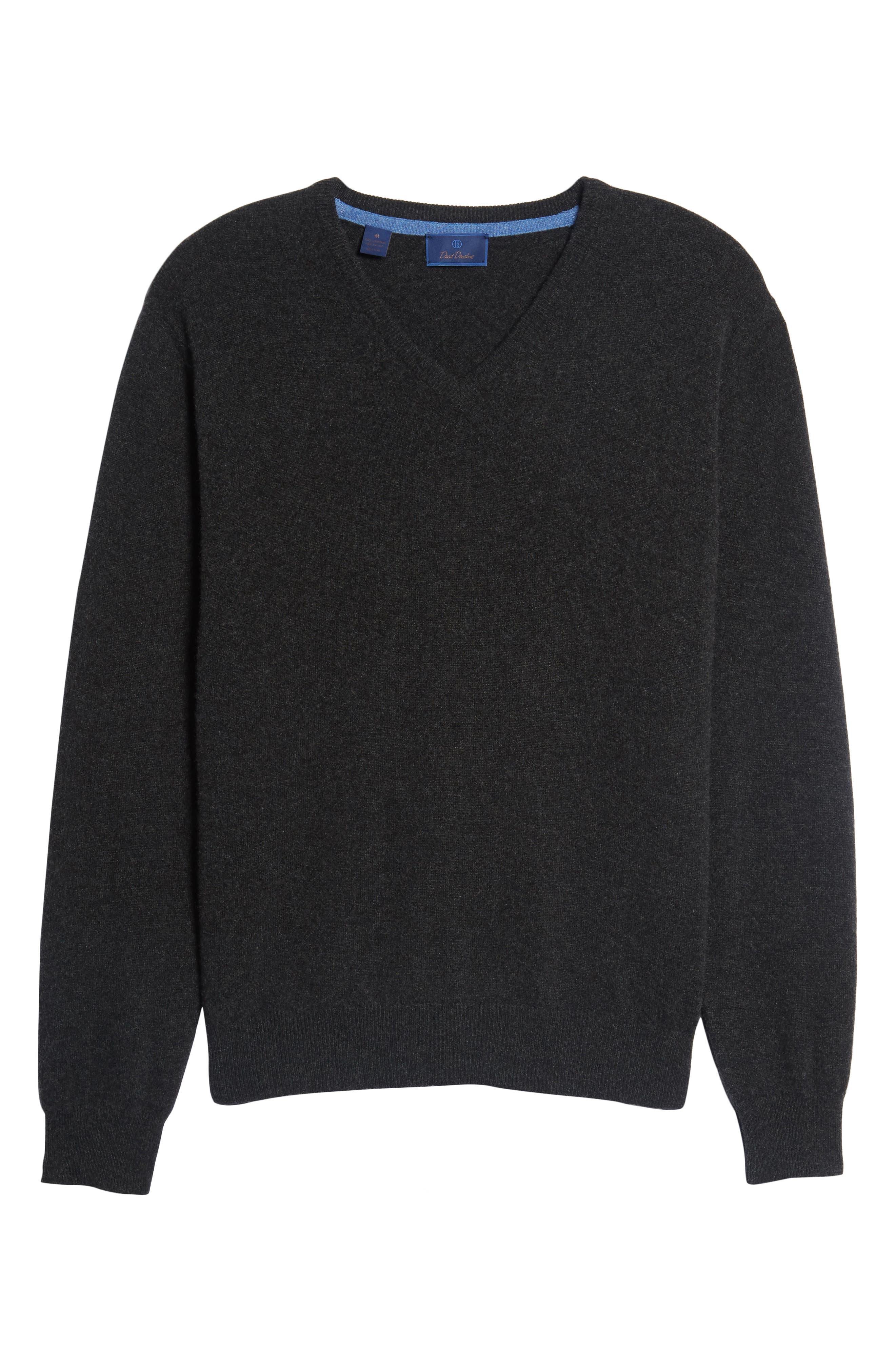 Cashmere V-Neck Sweater,                             Alternate thumbnail 31, color,