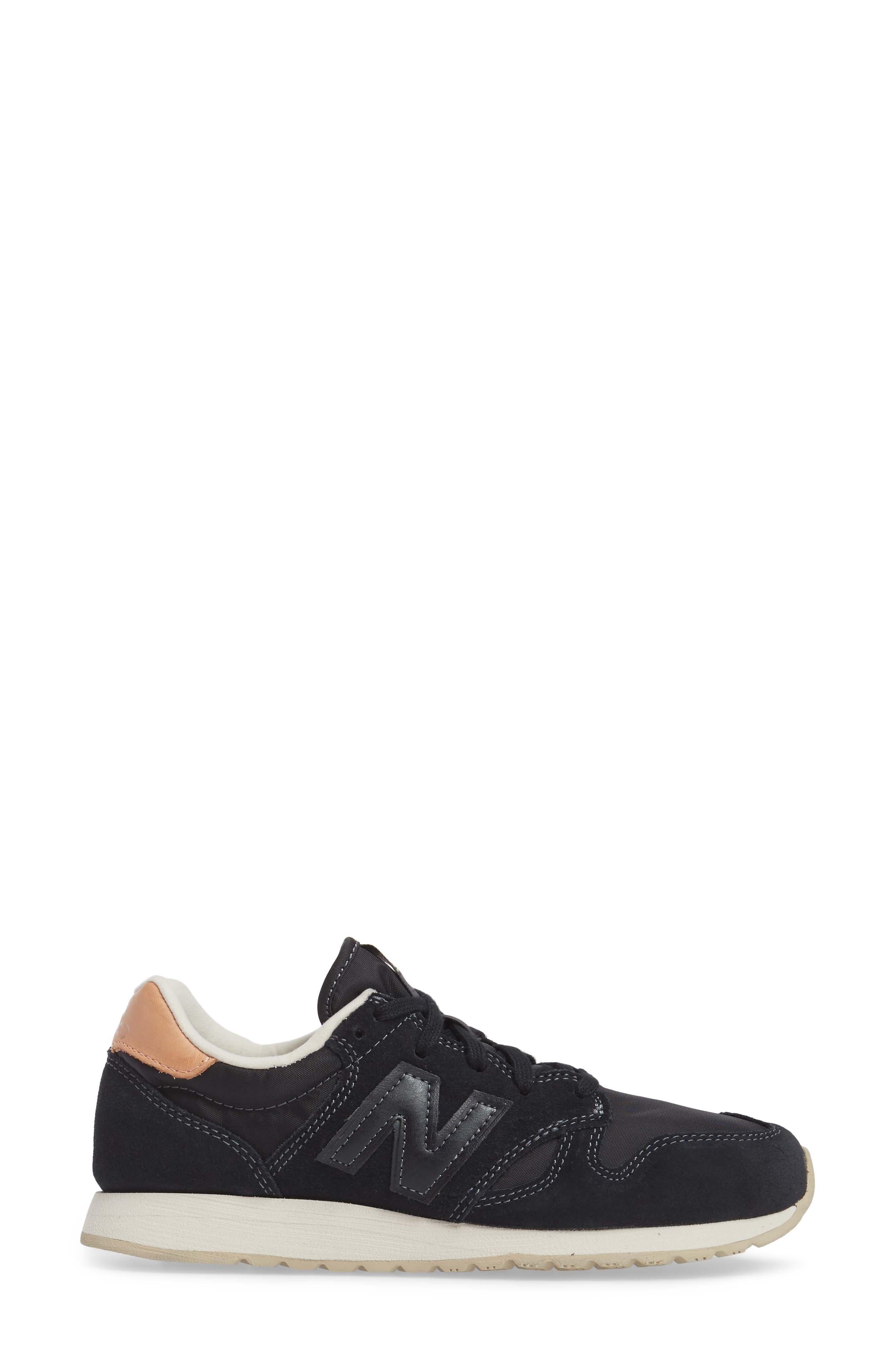 520 Sneaker,                             Alternate thumbnail 3, color,                             001