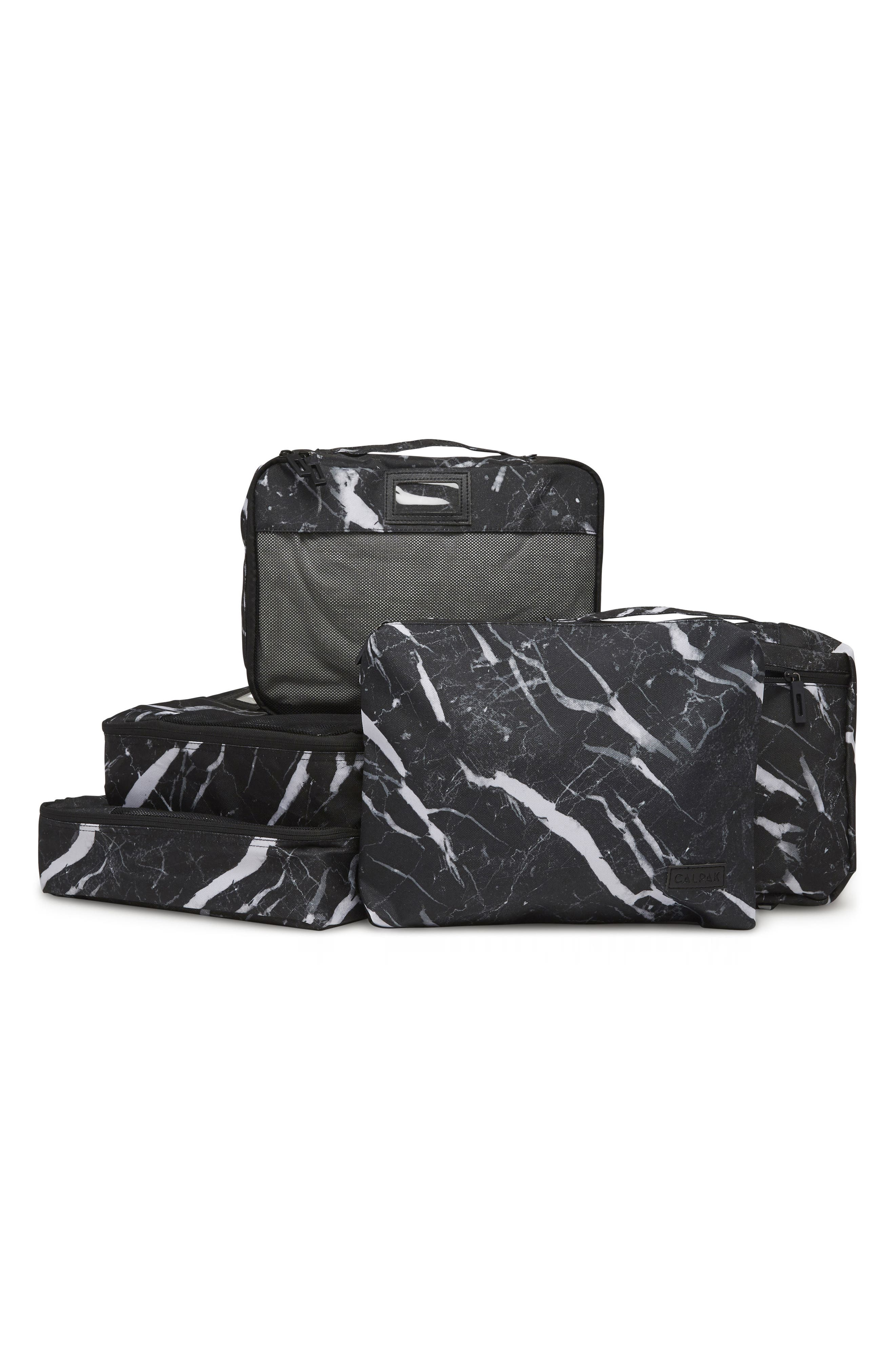 5-Piece Packing Cube Set,                             Main thumbnail 1, color,                             MIDNIGHT MARBLE