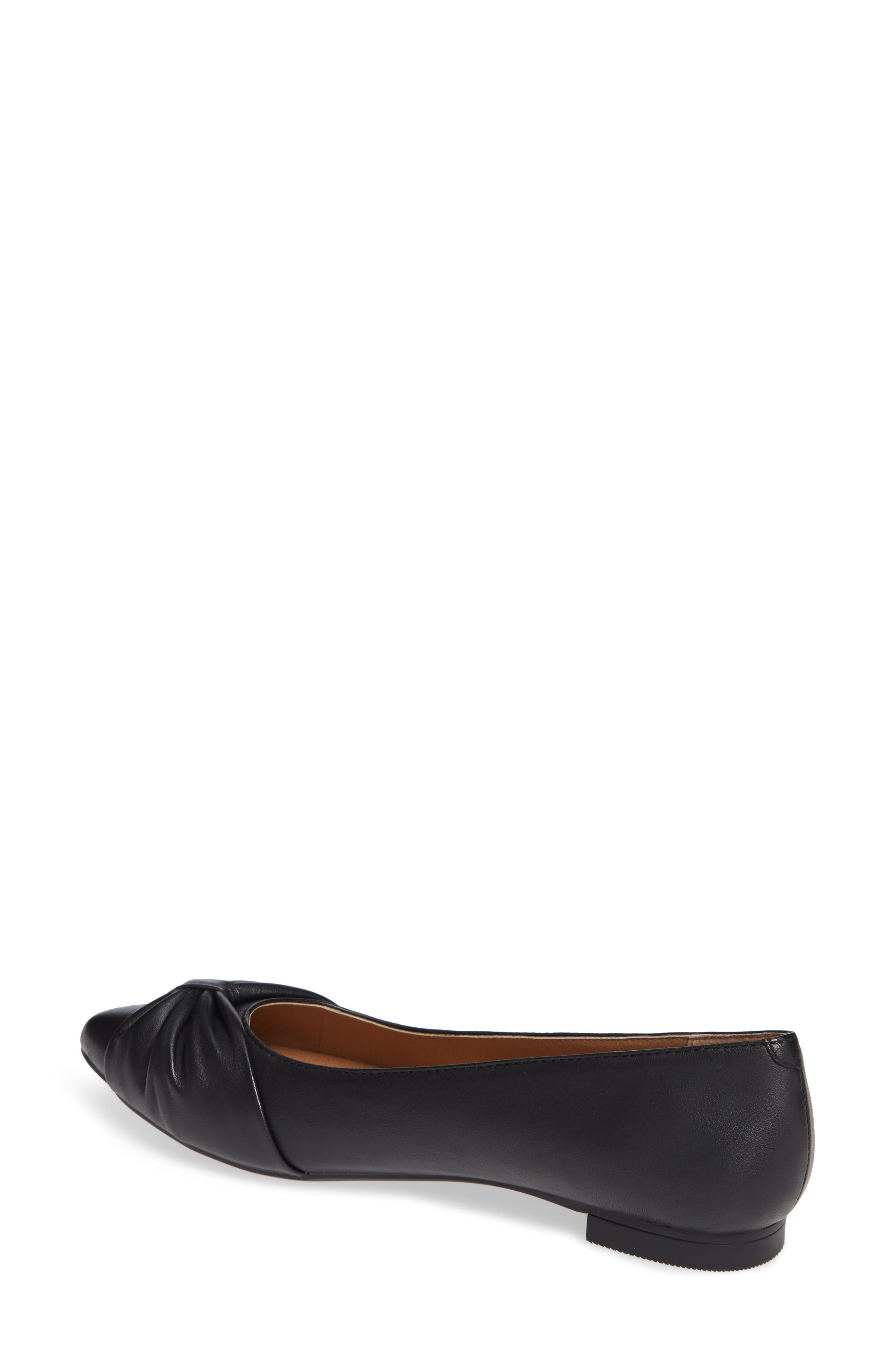 Gramercy Pointy Toe Flat,                             Alternate thumbnail 2, color,                             001