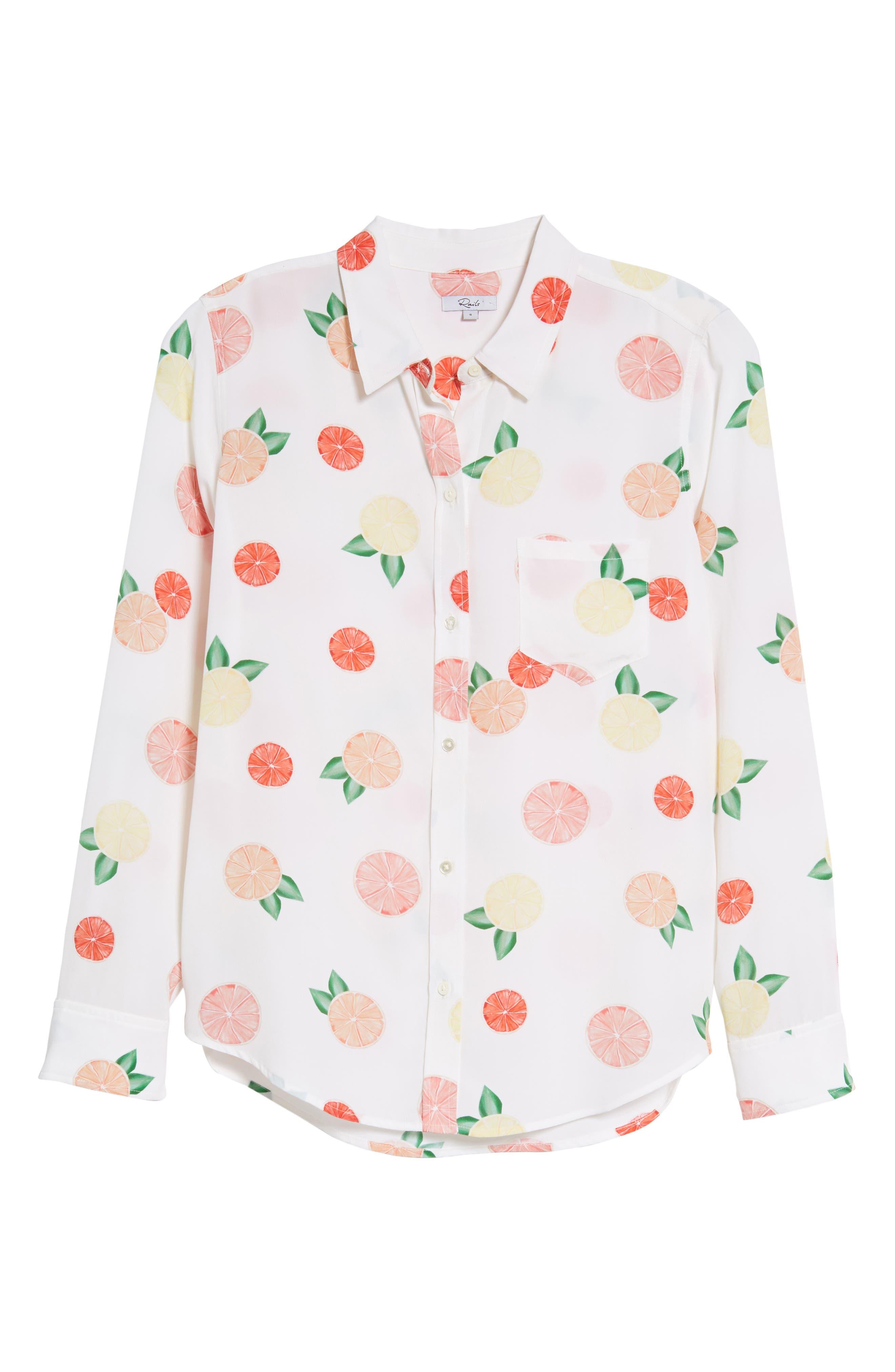 Kate Print Shirt,                             Alternate thumbnail 89, color,