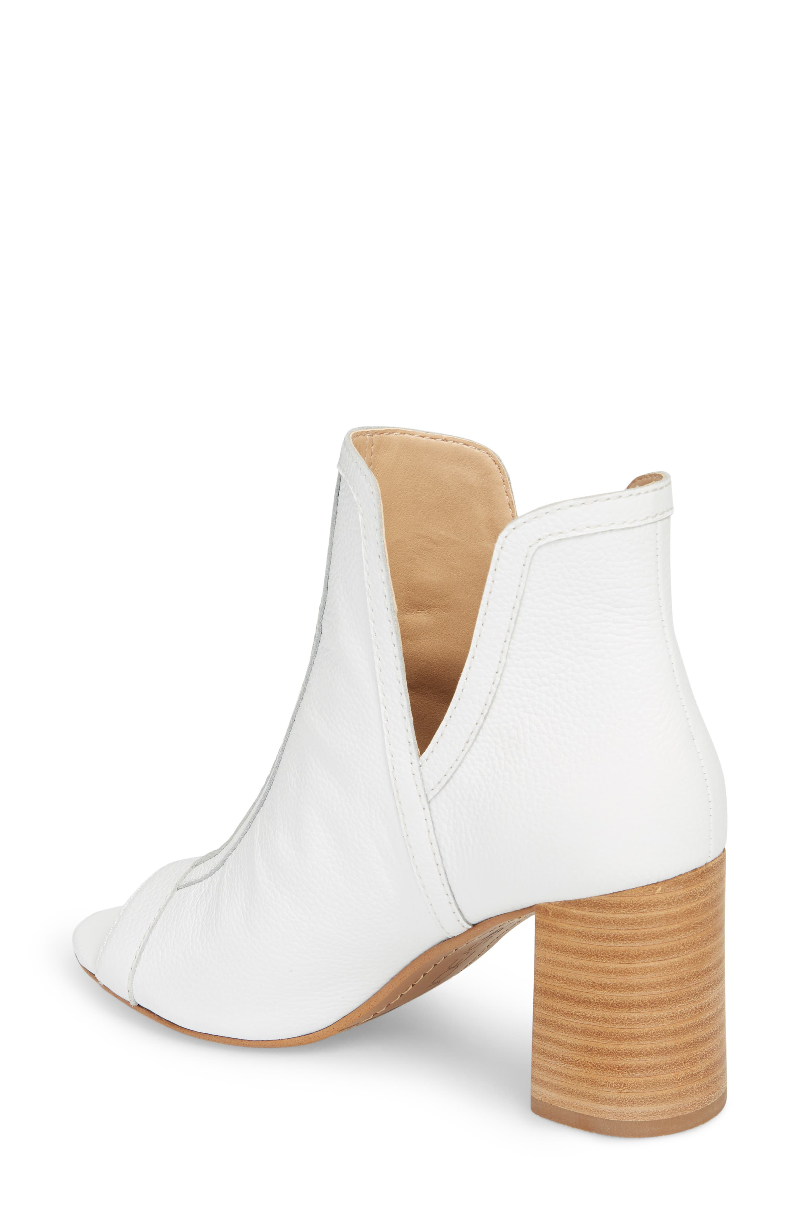 Marla Bootie,                             Alternate thumbnail 2, color,                             WHITE LEATHER