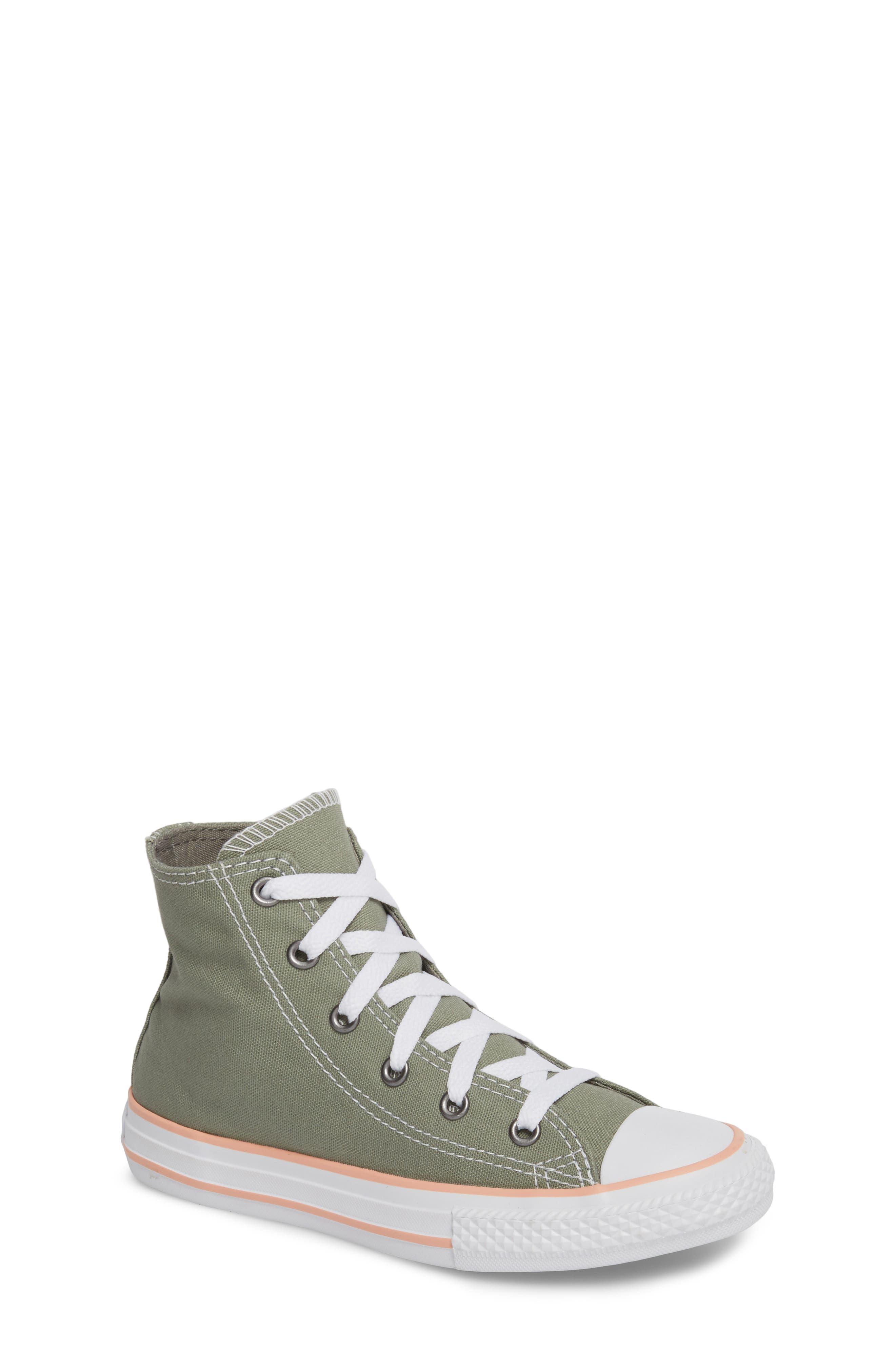 Chuck Taylor<sup>®</sup> All Star<sup>®</sup> High Top Sneaker,                             Main thumbnail 1, color,                             020