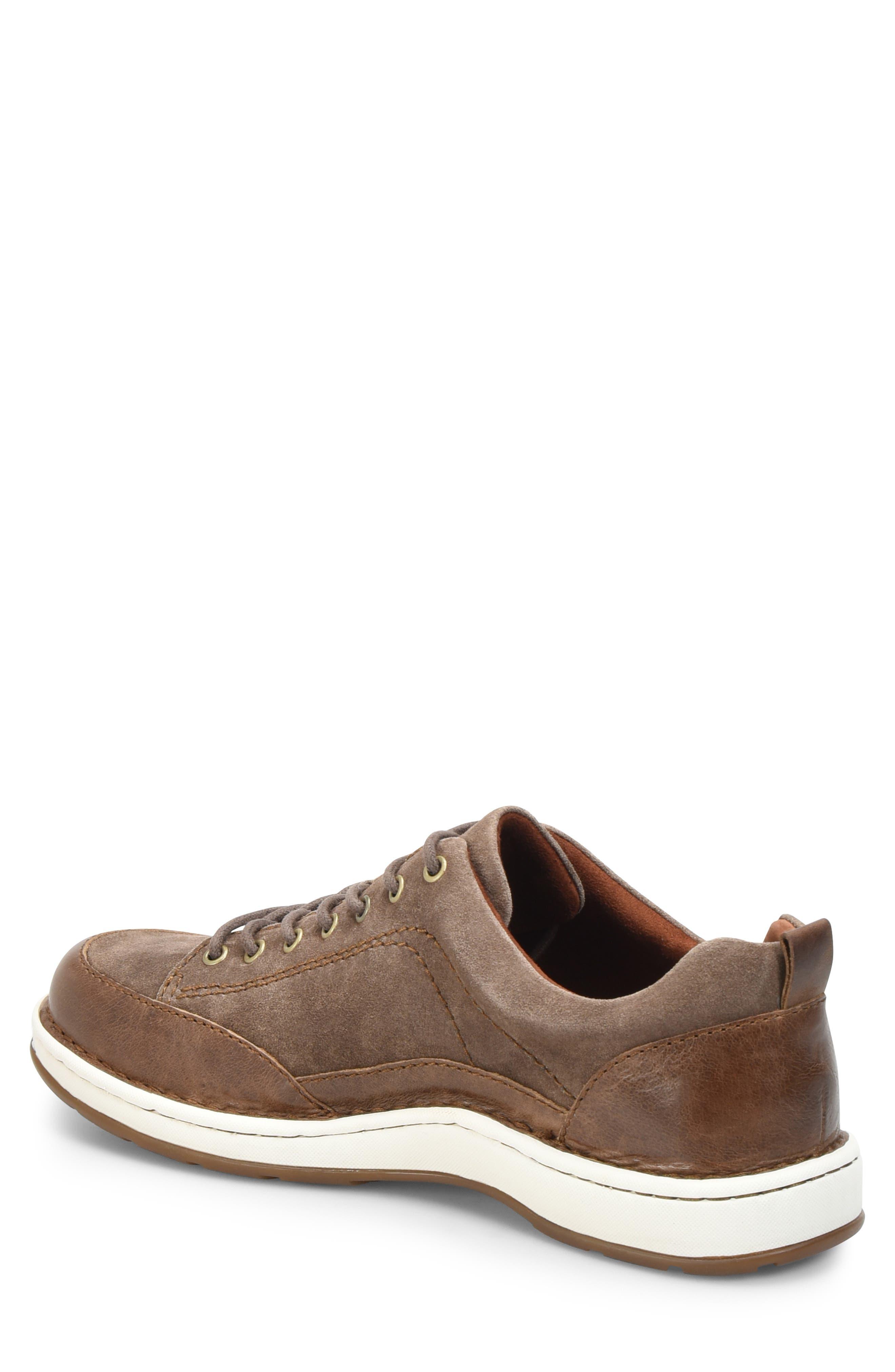 Kruger Moc Toe Sneaker,                             Alternate thumbnail 2, color,                             TAUPE LEATHER