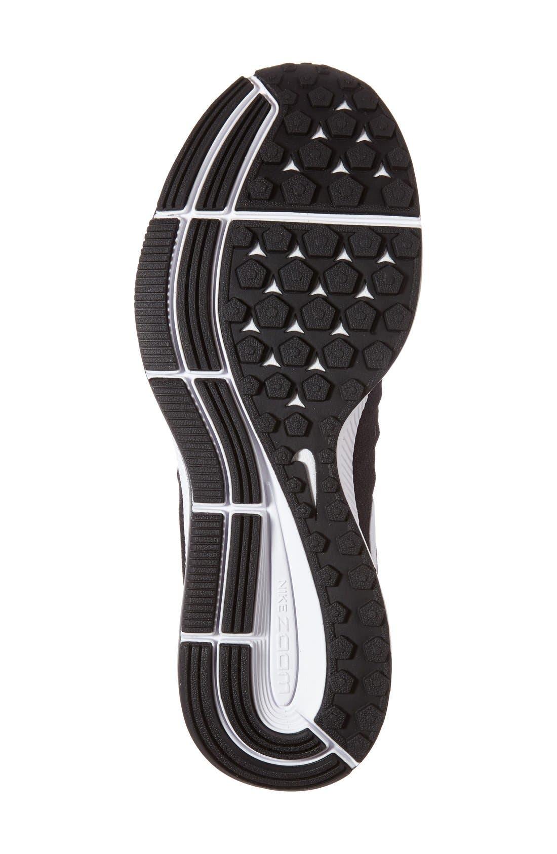 'Air Zoom Pegasus 33' Sneaker,                             Alternate thumbnail 4, color,                             001