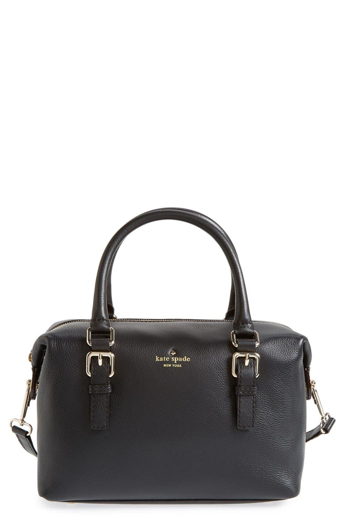 'cobble hill - sami' satchel,                         Main,                         color, 001