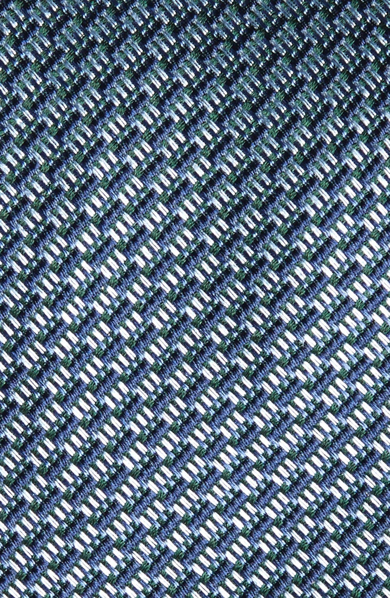 Tech Woven Silk Tie,                             Alternate thumbnail 3, color,