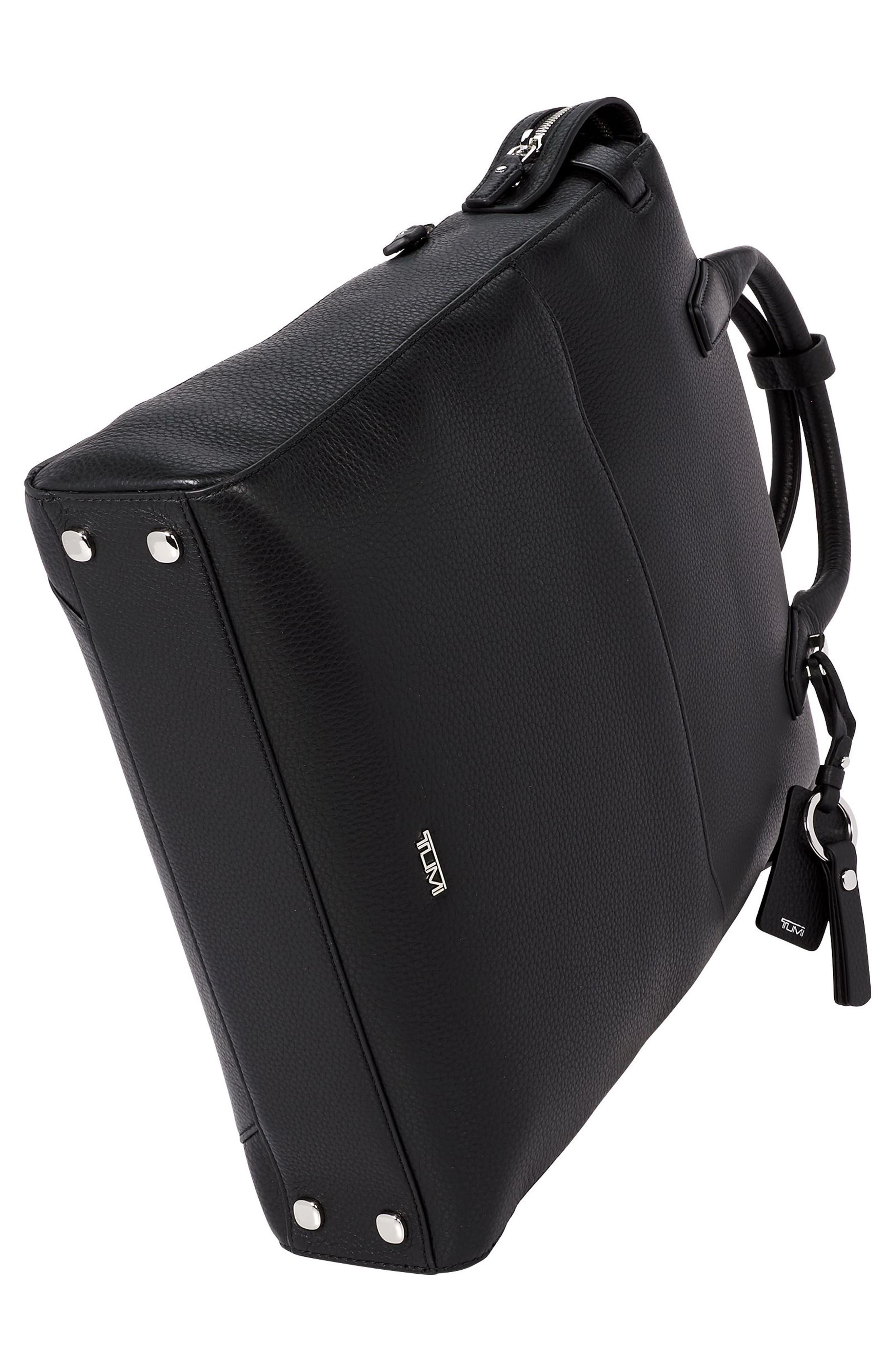 Stanton Stanton Safra Convertible Laptop Backpack/Tote,                             Alternate thumbnail 5, color,                             BLACK