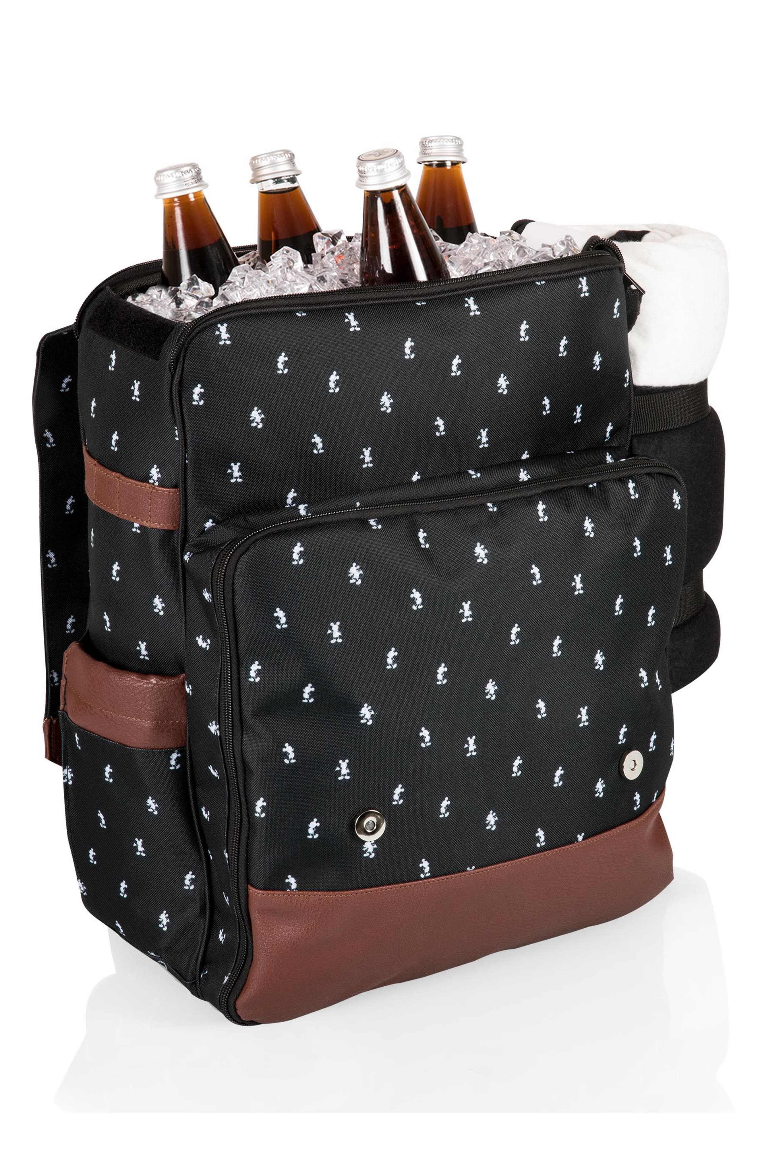 Mickey Mouse<sup>®</sup> Picnic Backpack,                             Alternate thumbnail 10, color,                             001