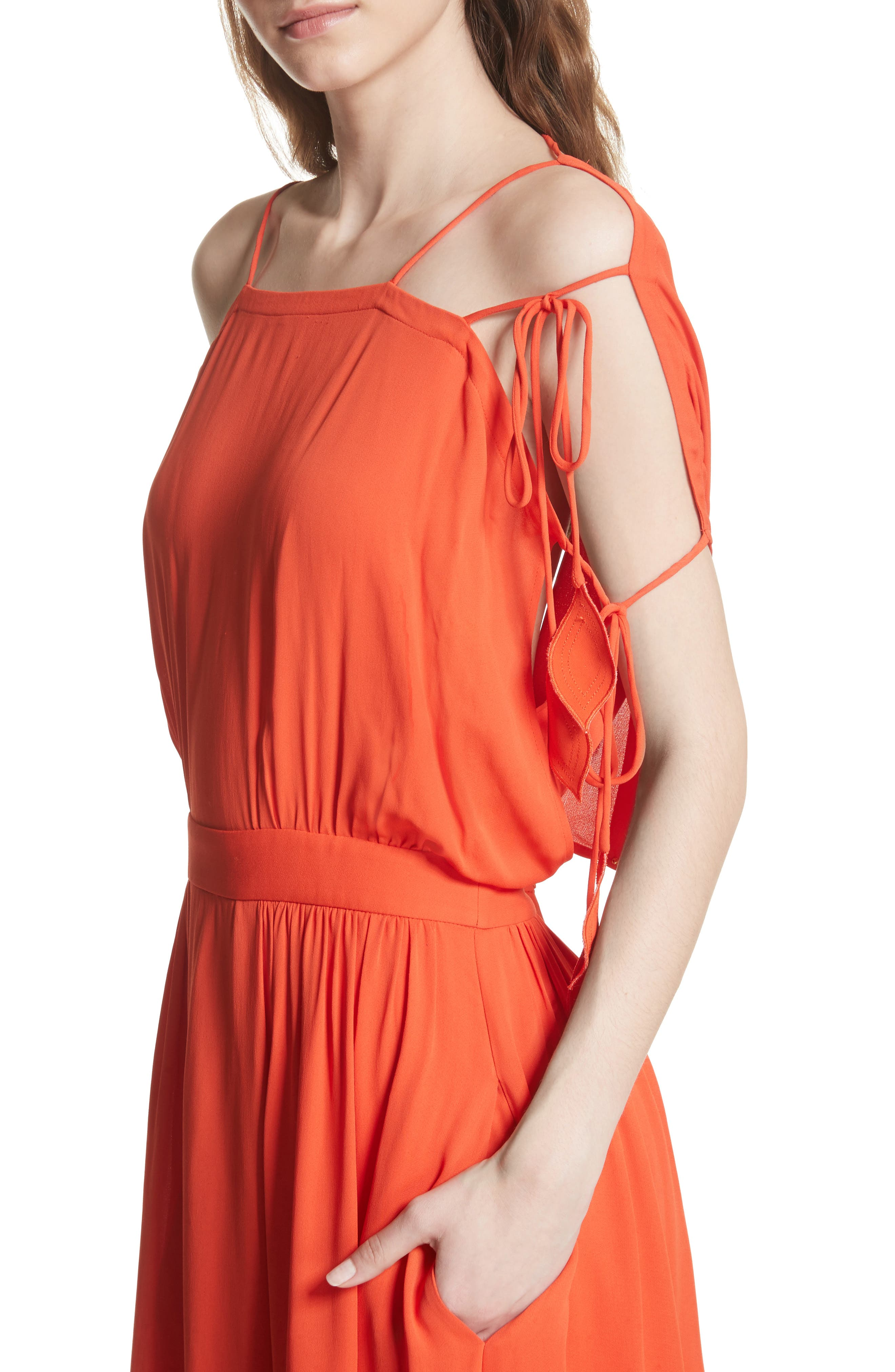 Evalene Maxi Dress,                             Alternate thumbnail 4, color,                             614