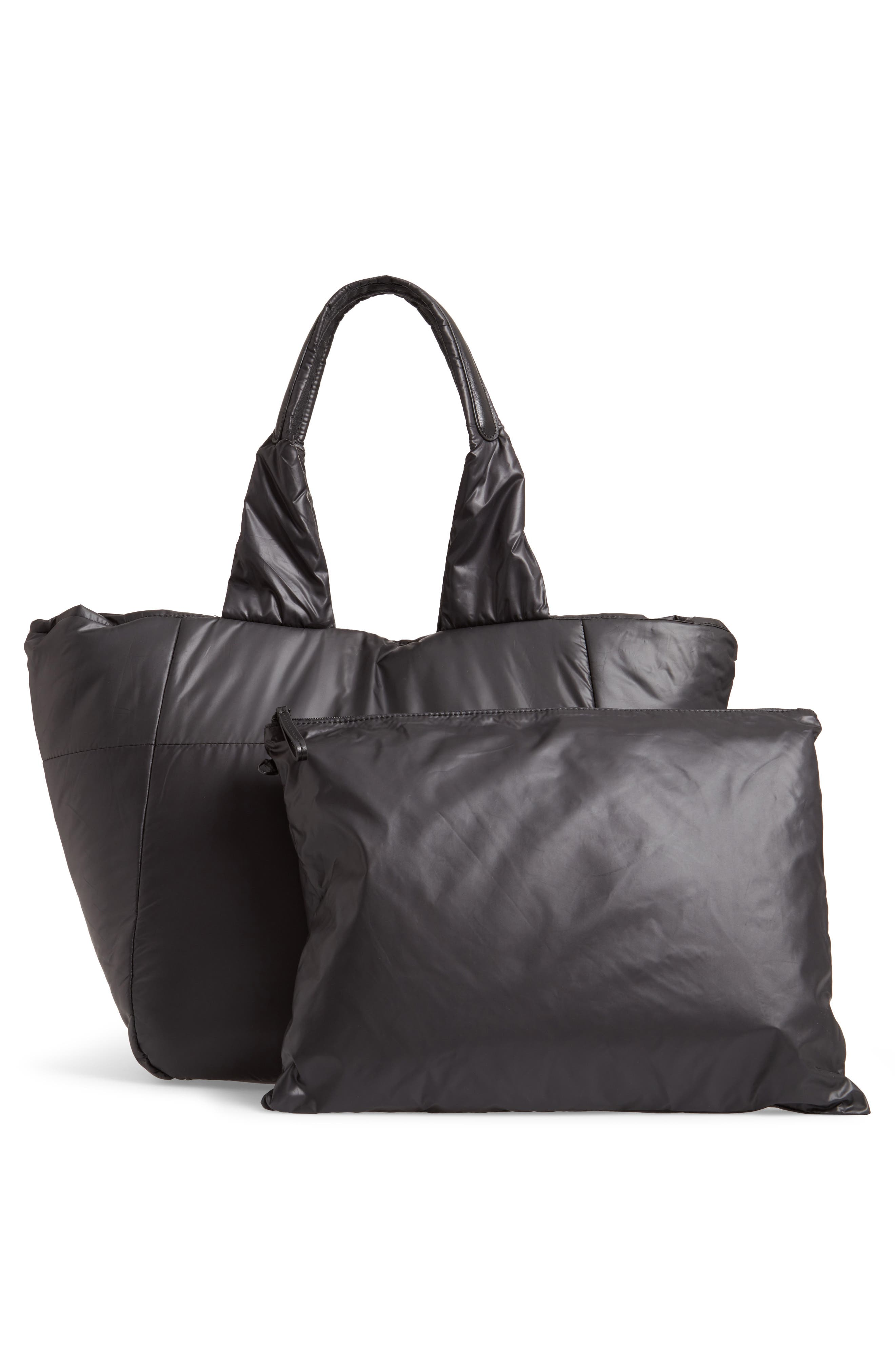 Cumulus Tote,                             Alternate thumbnail 4, color,                             BLACK