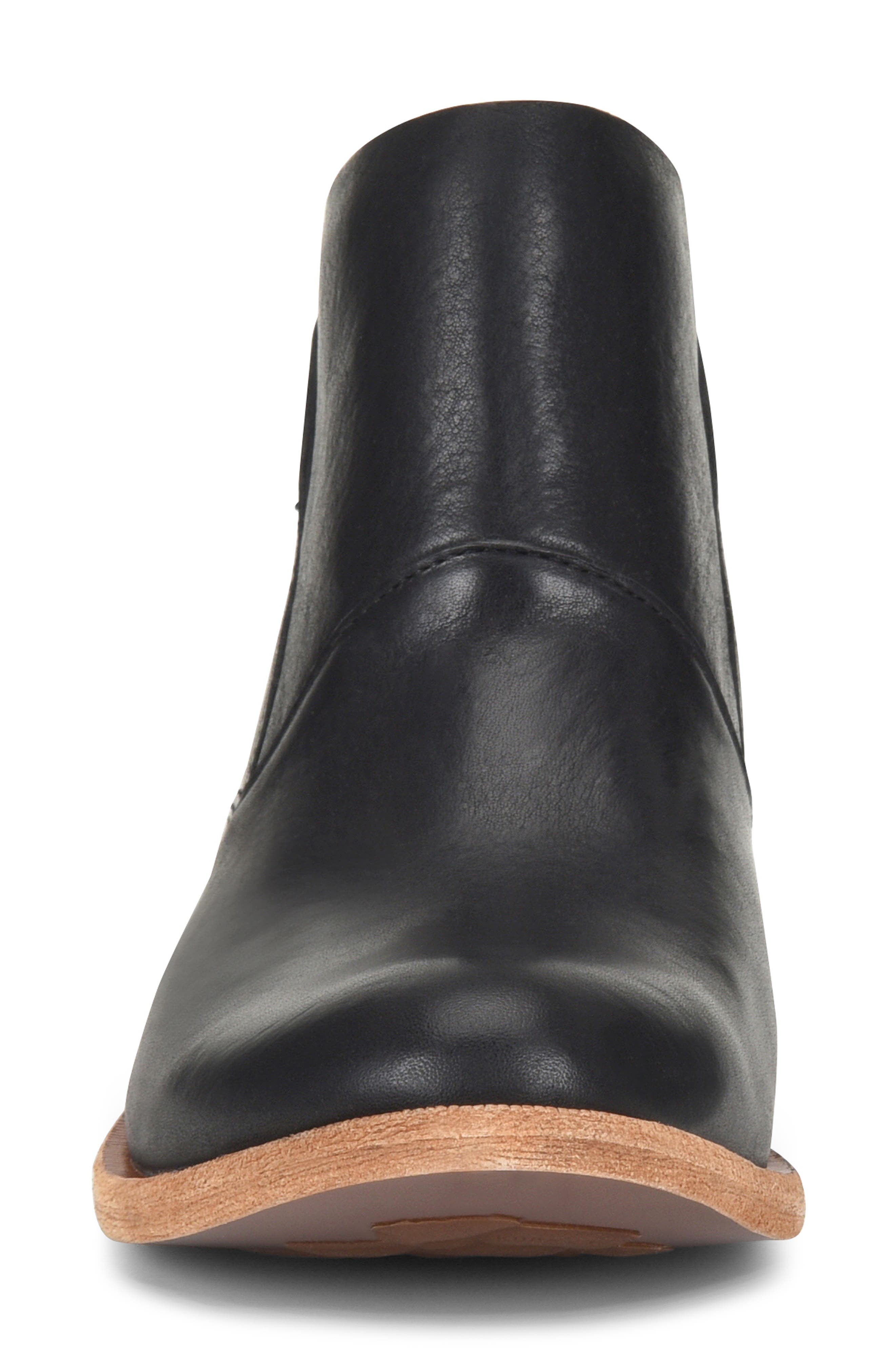 Ryder Ankle Boot,                             Alternate thumbnail 4, color,                             BLACK LEATHER