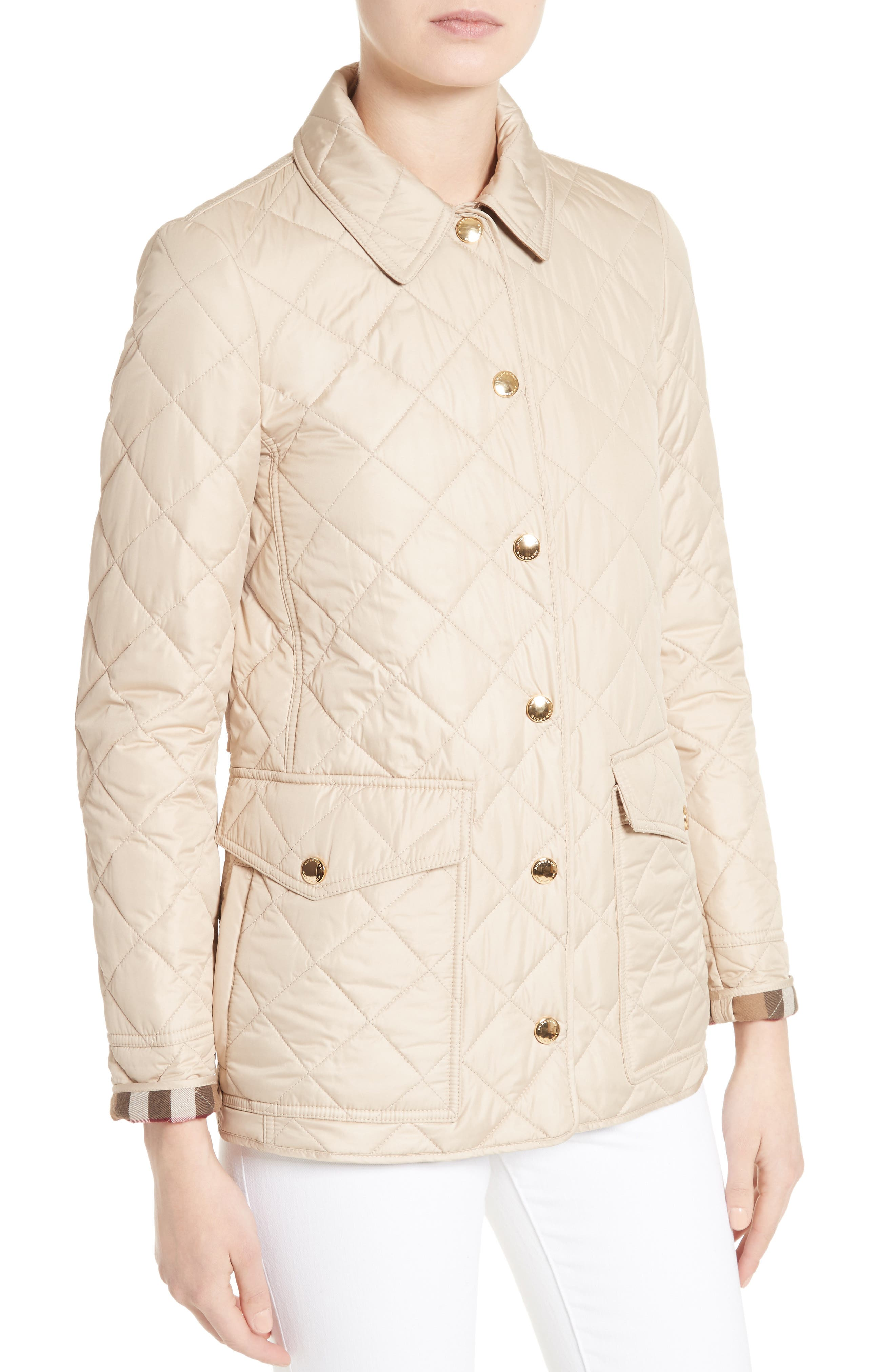Westbridge Quilted Jacket,                             Alternate thumbnail 4, color,                             250