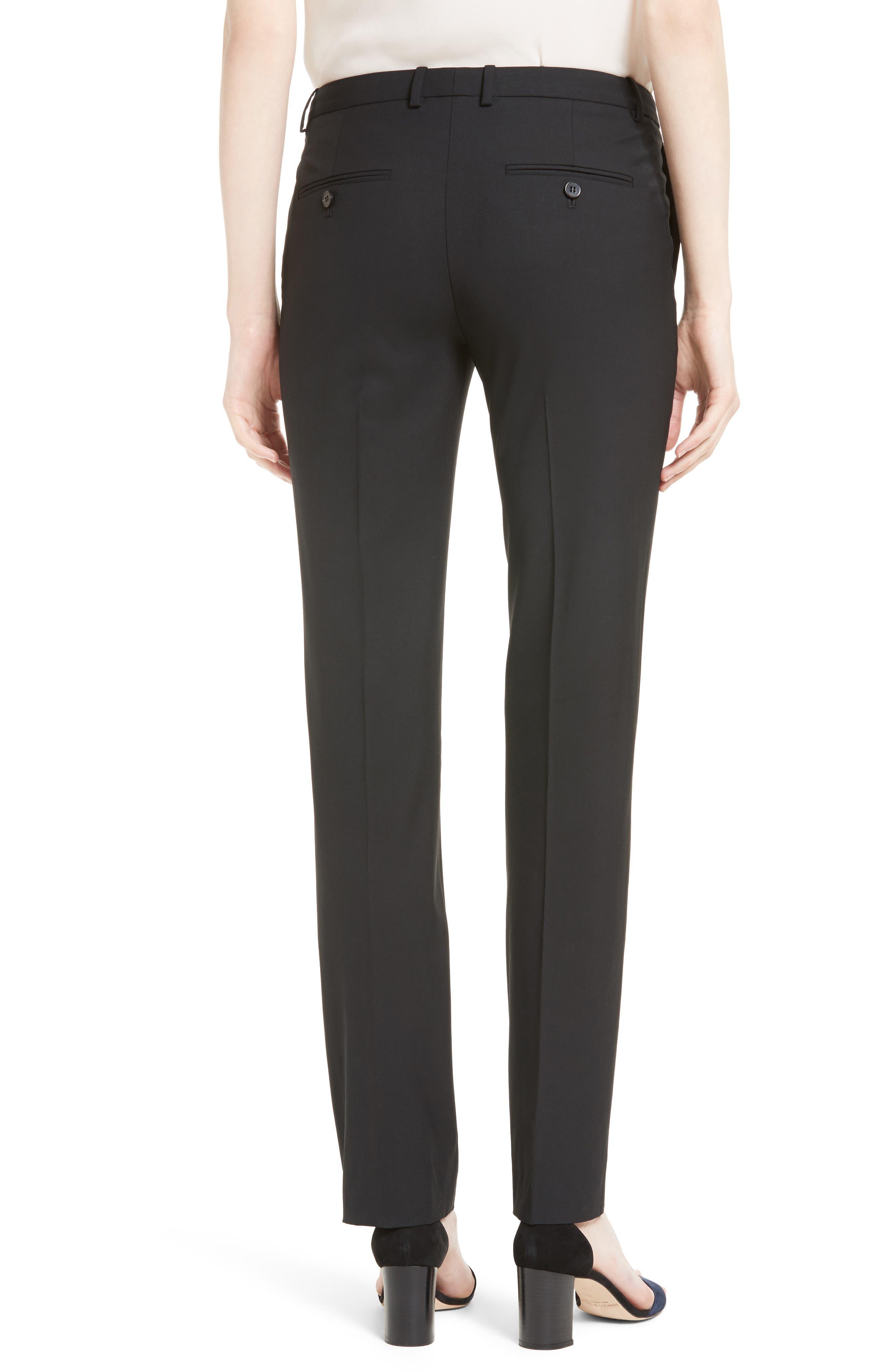 Hartsdale B Good Wool Suit Pants,                             Alternate thumbnail 2, color,                             BLACK
