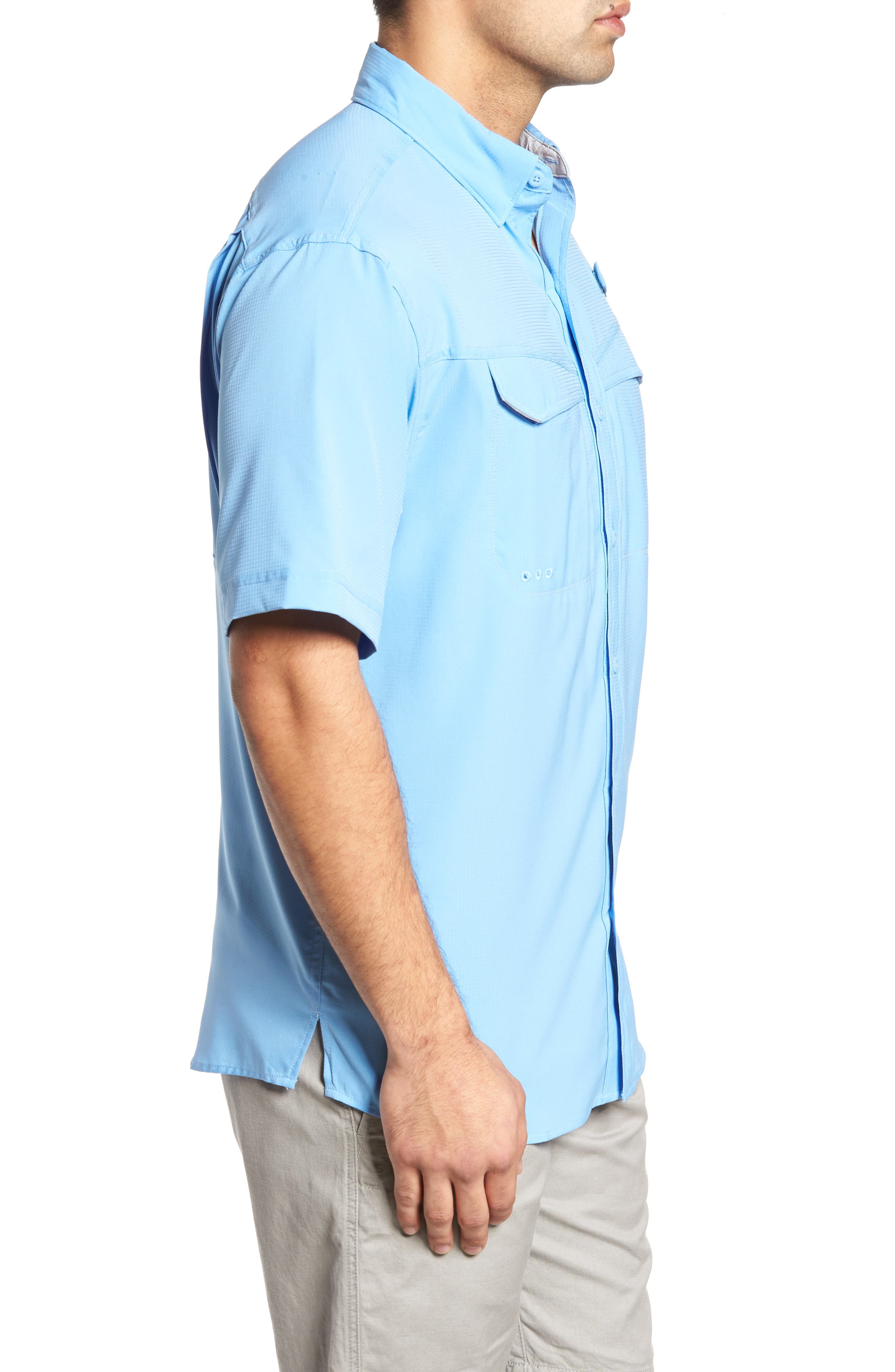 PFG Low Drag Offshore Woven Shirt,                             Alternate thumbnail 11, color,