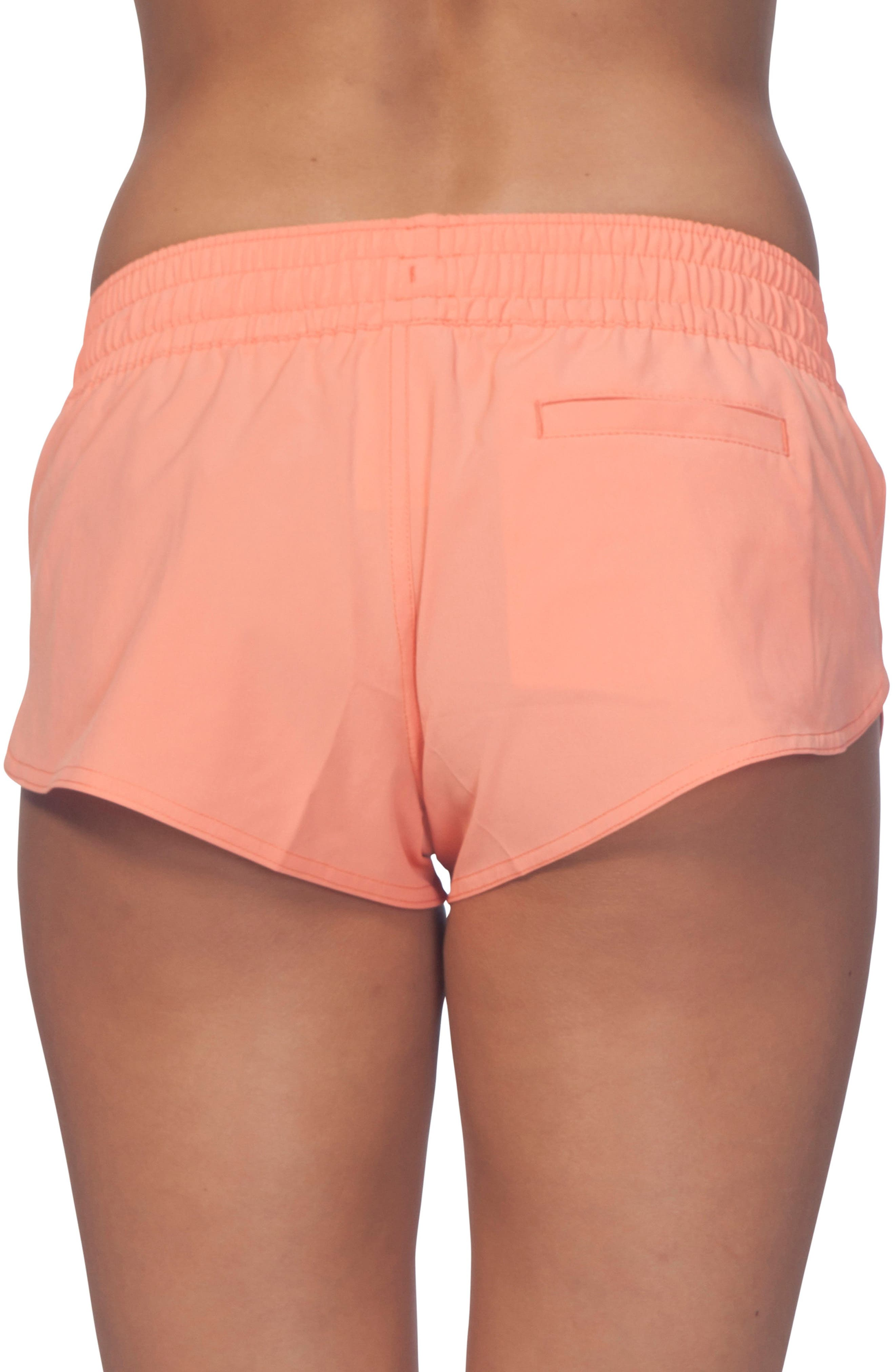 Classic Surf 2 Boardie Shorts,                             Alternate thumbnail 2, color,                             HOT CORAL