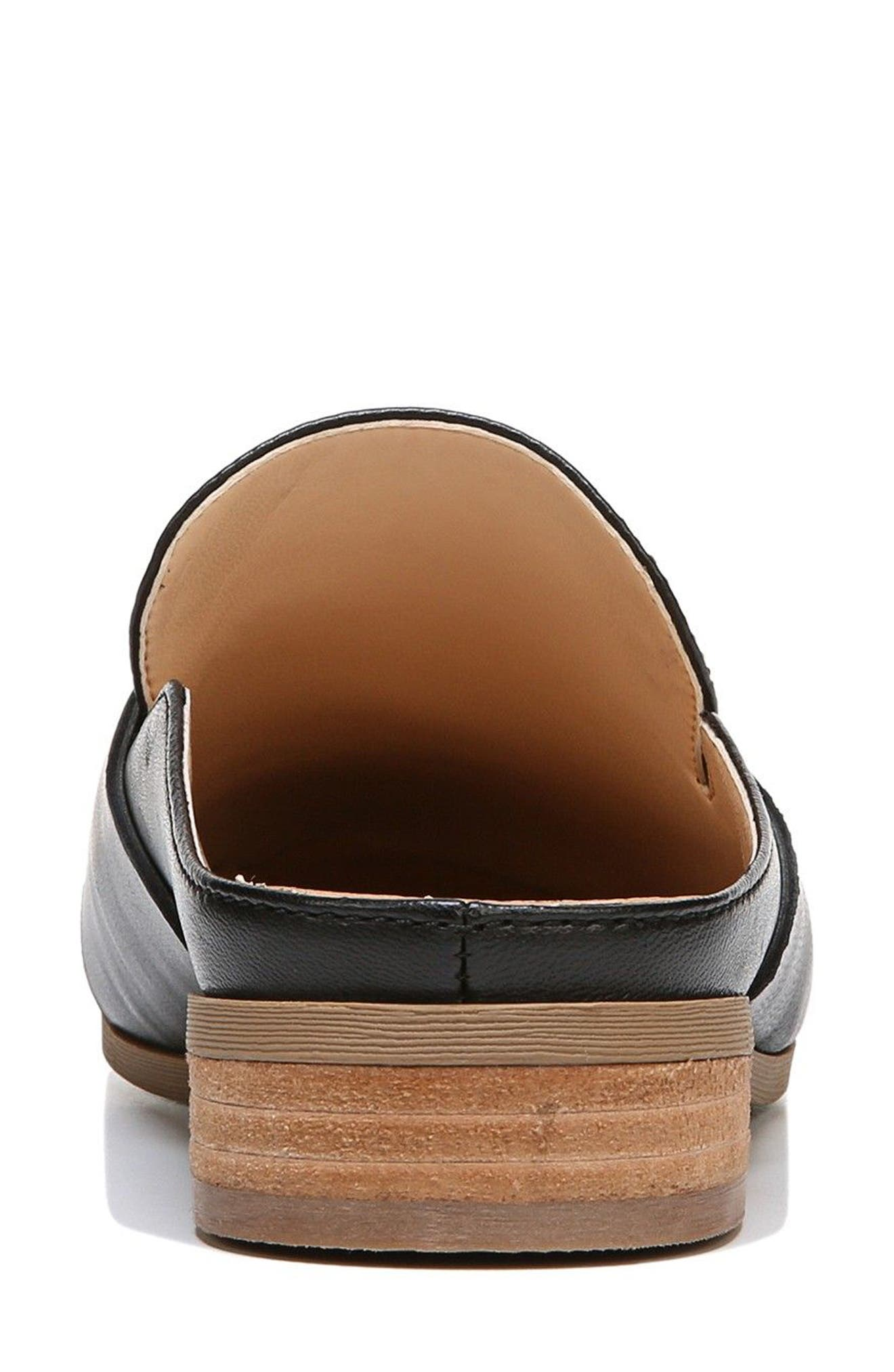 Eden Mule,                             Alternate thumbnail 7, color,                             BLACK LEATHER