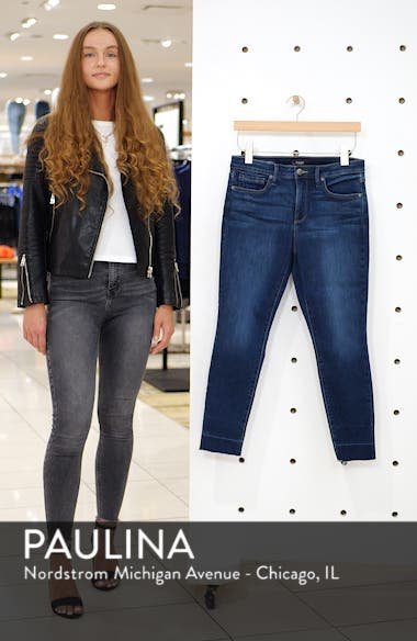 Ami Wide Release Hem Super Skinny Jeans, sales video thumbnail