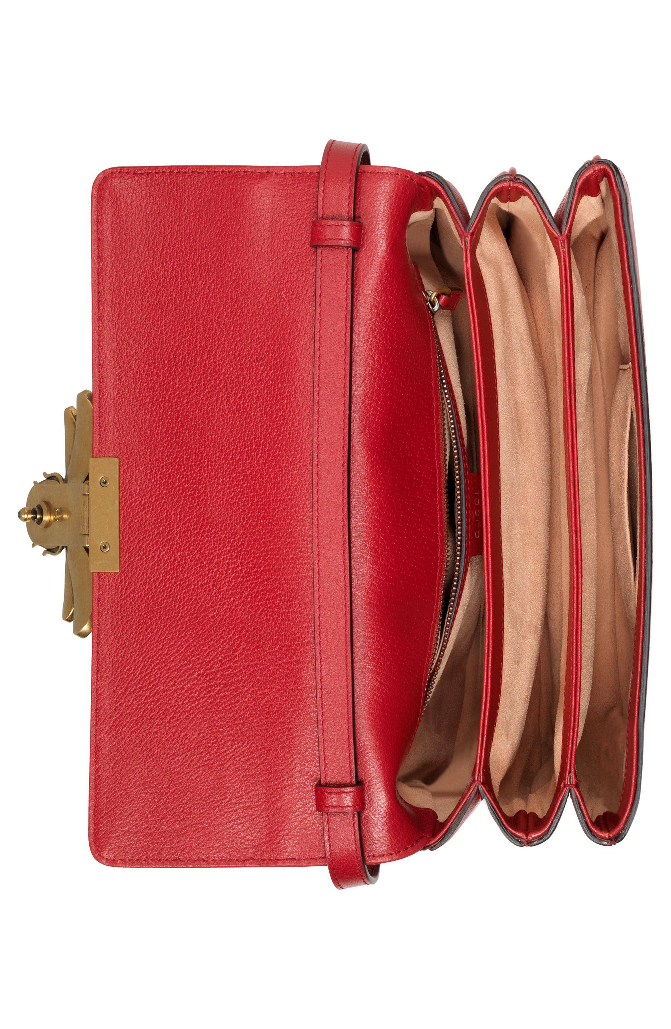 Queen Margaret GG Supreme Small Crossbody Bag,                             Alternate thumbnail 3, color,