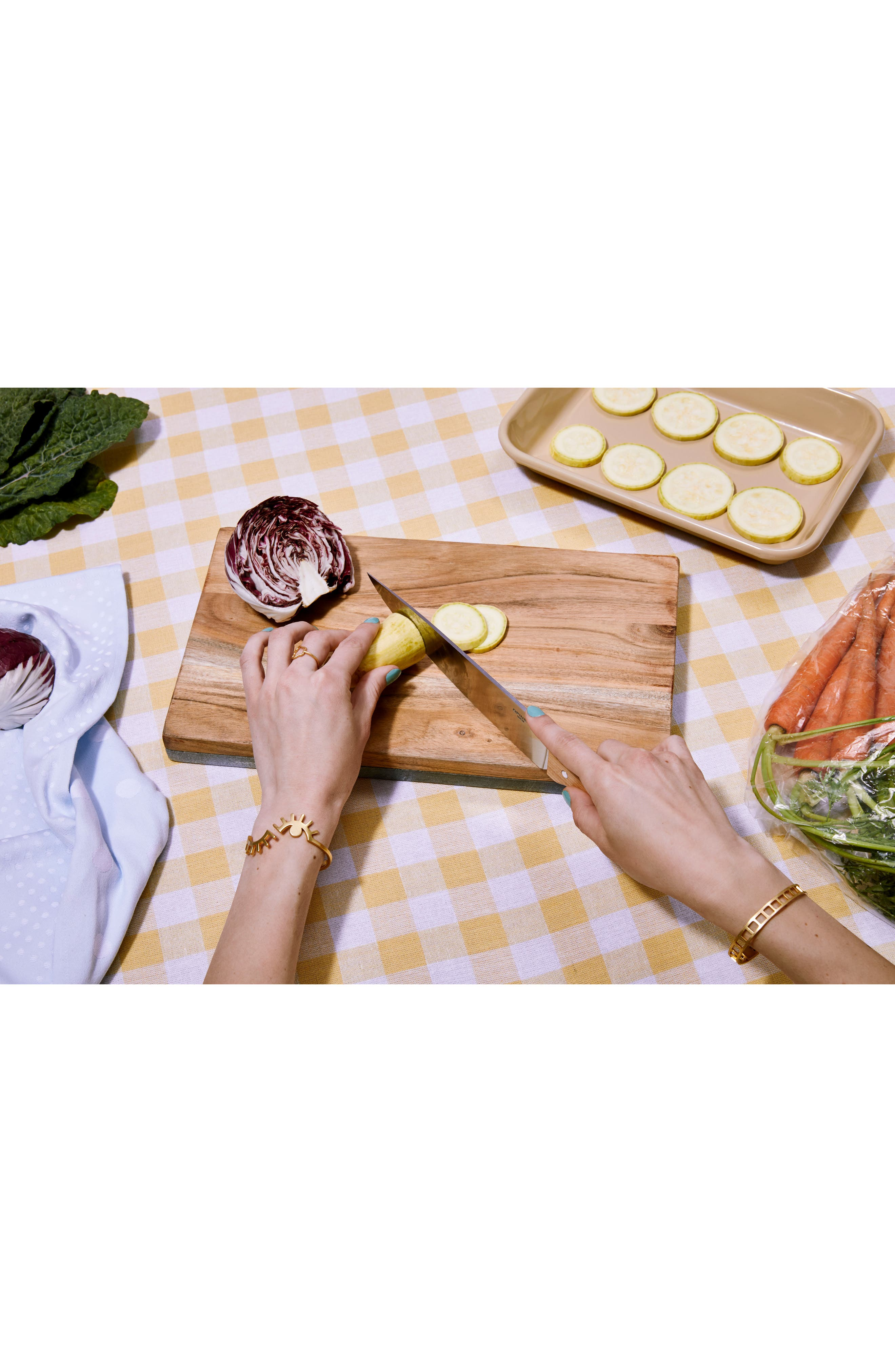 Blue Marble & Mango Wood Reversible Serving Board,                             Alternate thumbnail 4, color,                             200