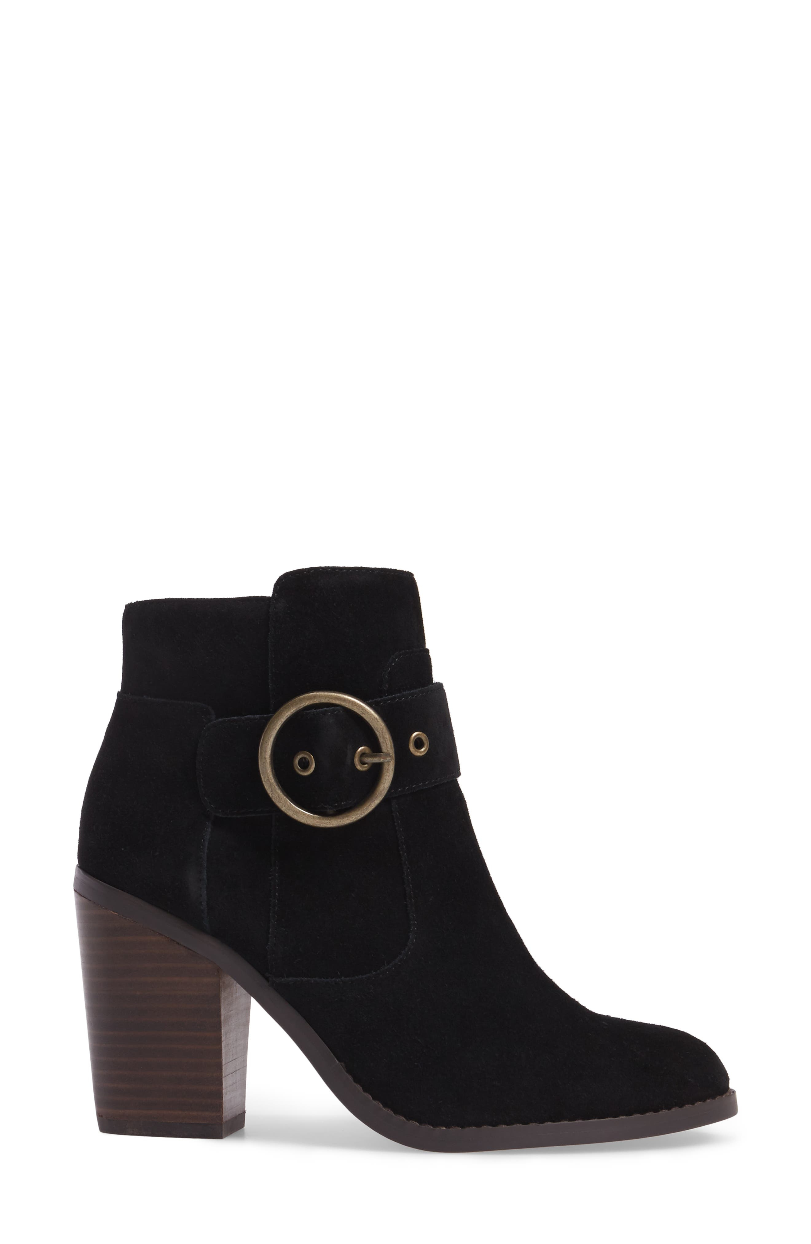 Grove Buckle Bootie,                             Alternate thumbnail 5, color,