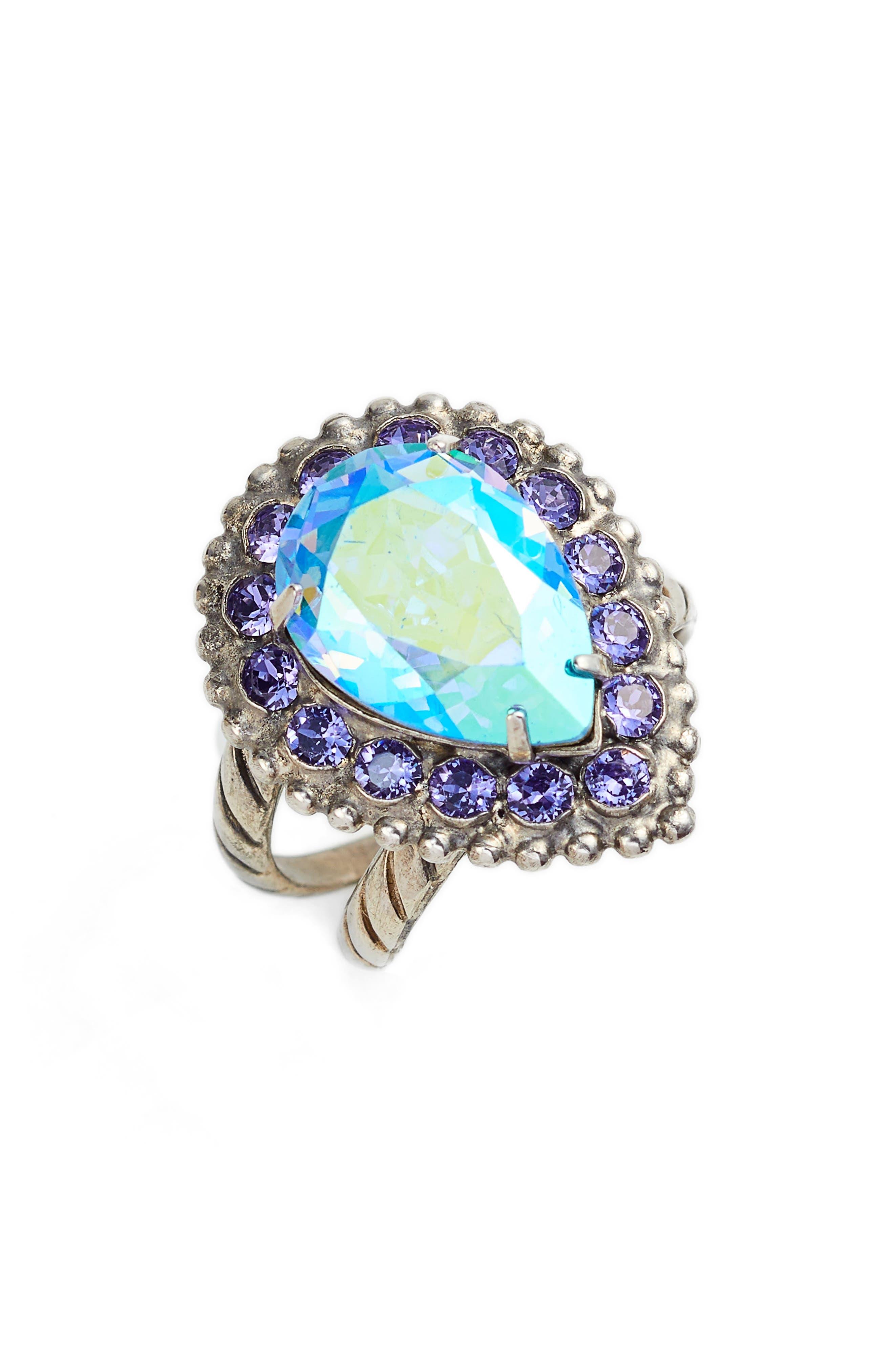 Arum Ring,                             Main thumbnail 1, color,                             PURPLE