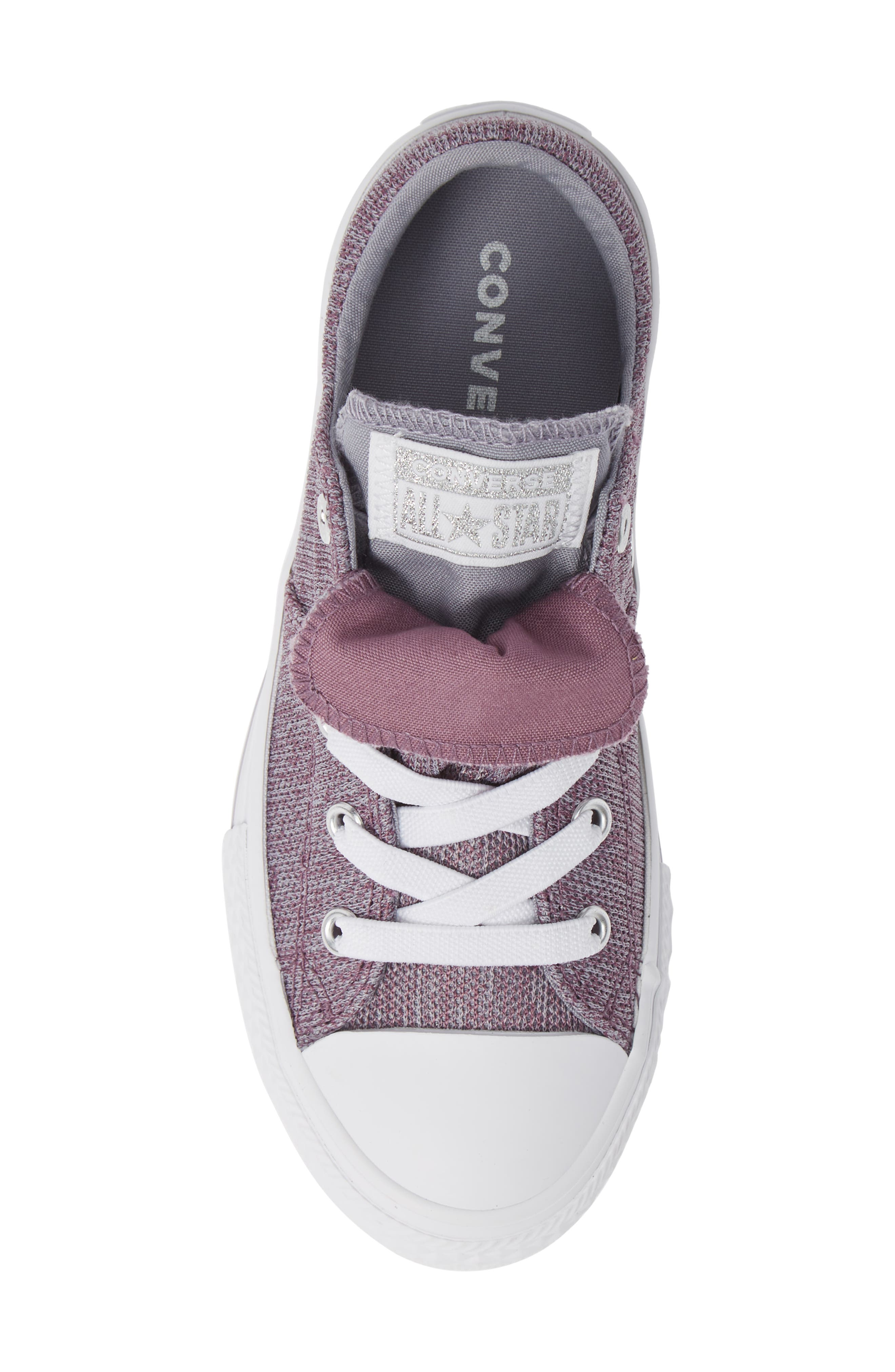 Chuck Taylor<sup>®</sup> All Star<sup>®</sup> Maddie Double Tongue Sneaker,                             Alternate thumbnail 5, color,                             VIOLET DUST